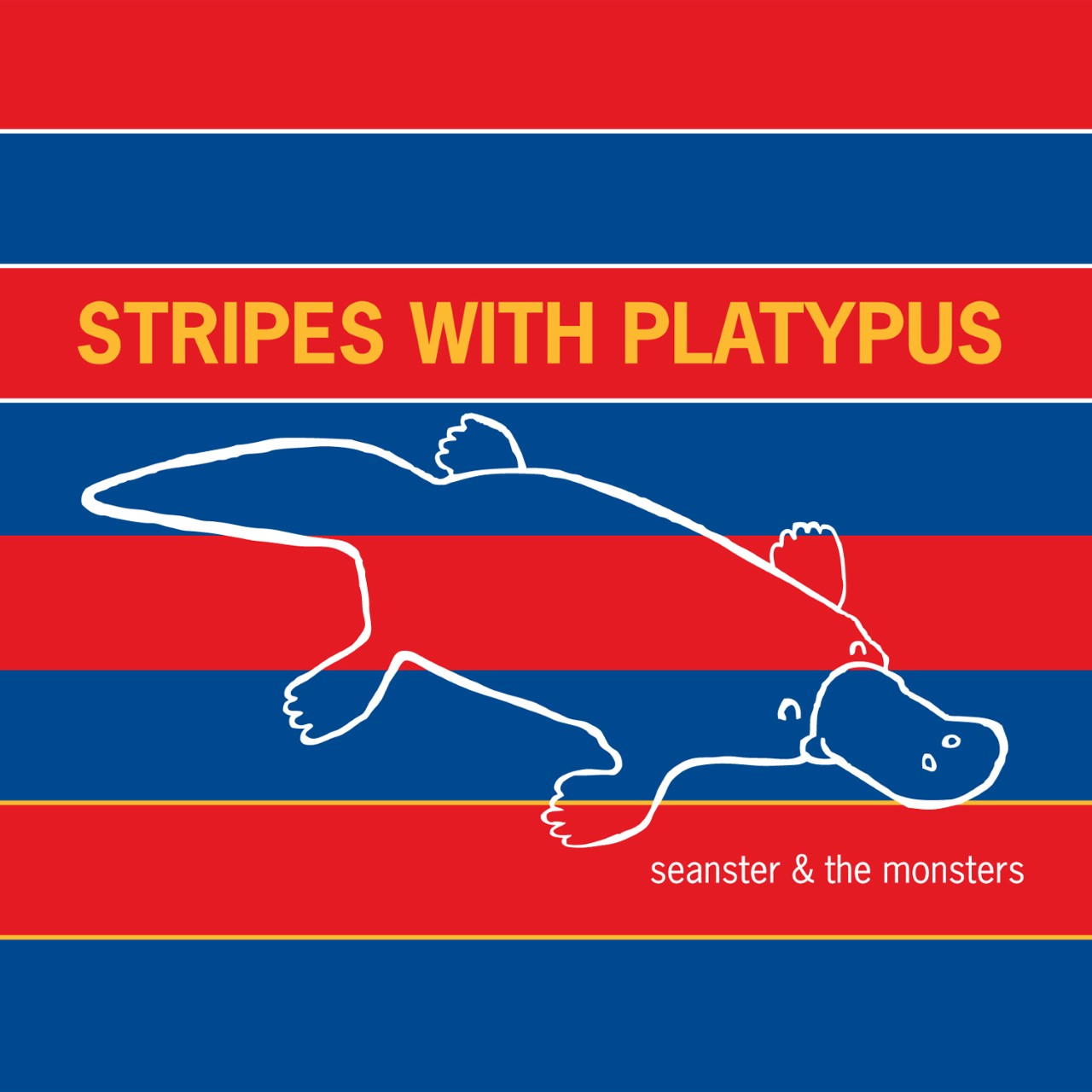 Stripes with Platypus by Seanster and the Monsters