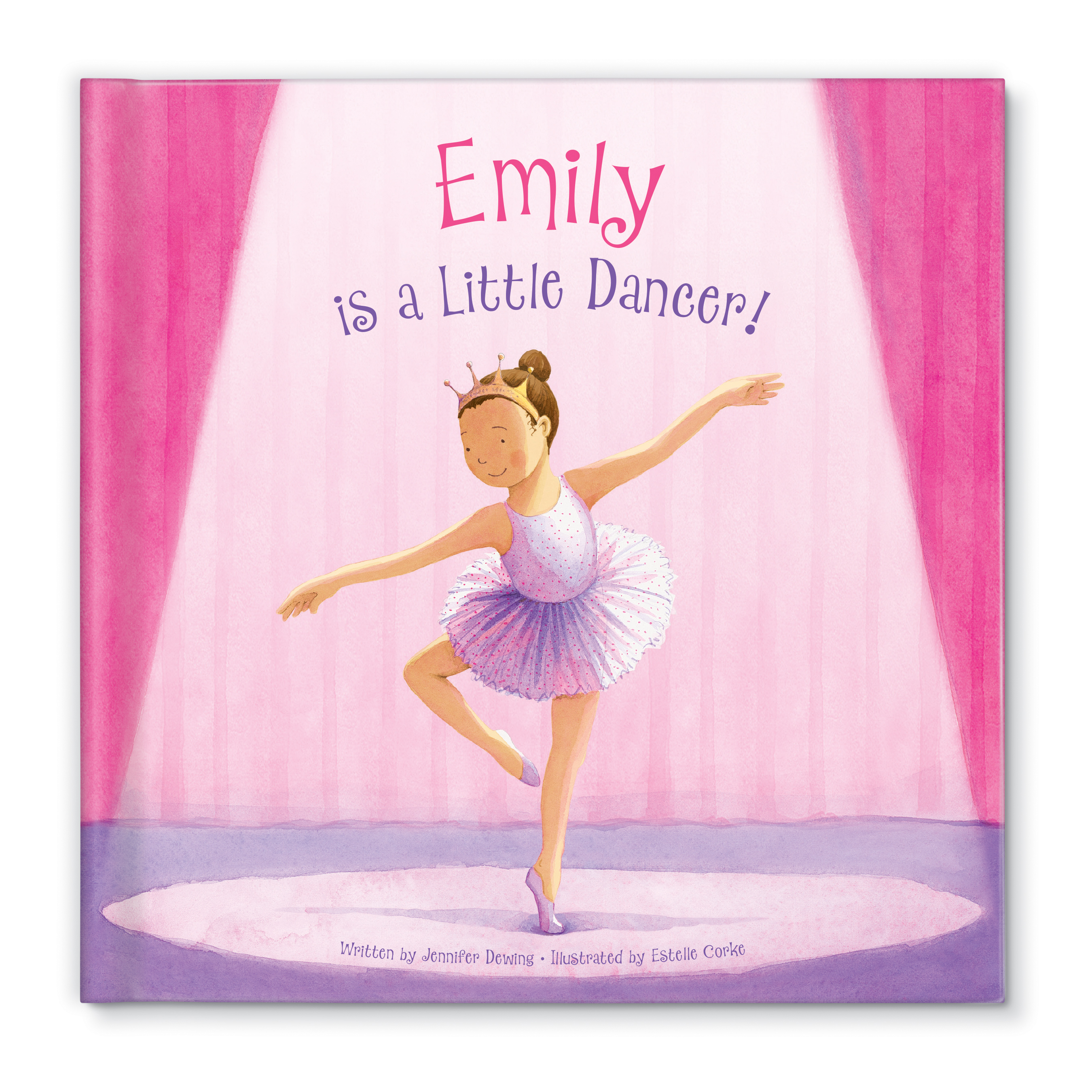 Personalized Little Dancer Book