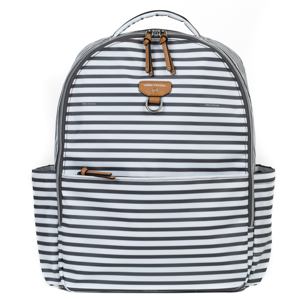 TWELVElittle On-The-Go Backpack in Stripe Print