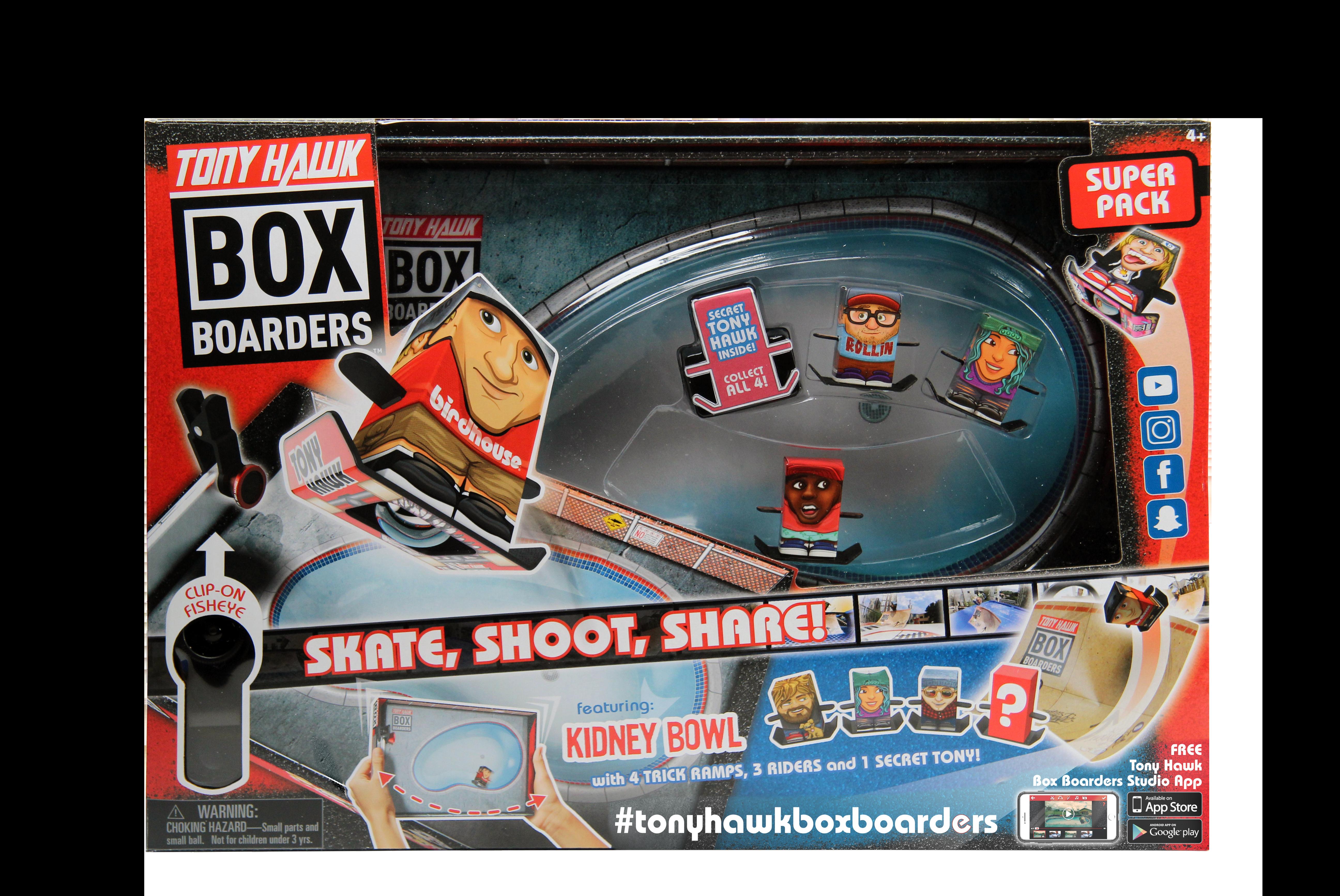 Tony Hawk Box Boarders Super Pack