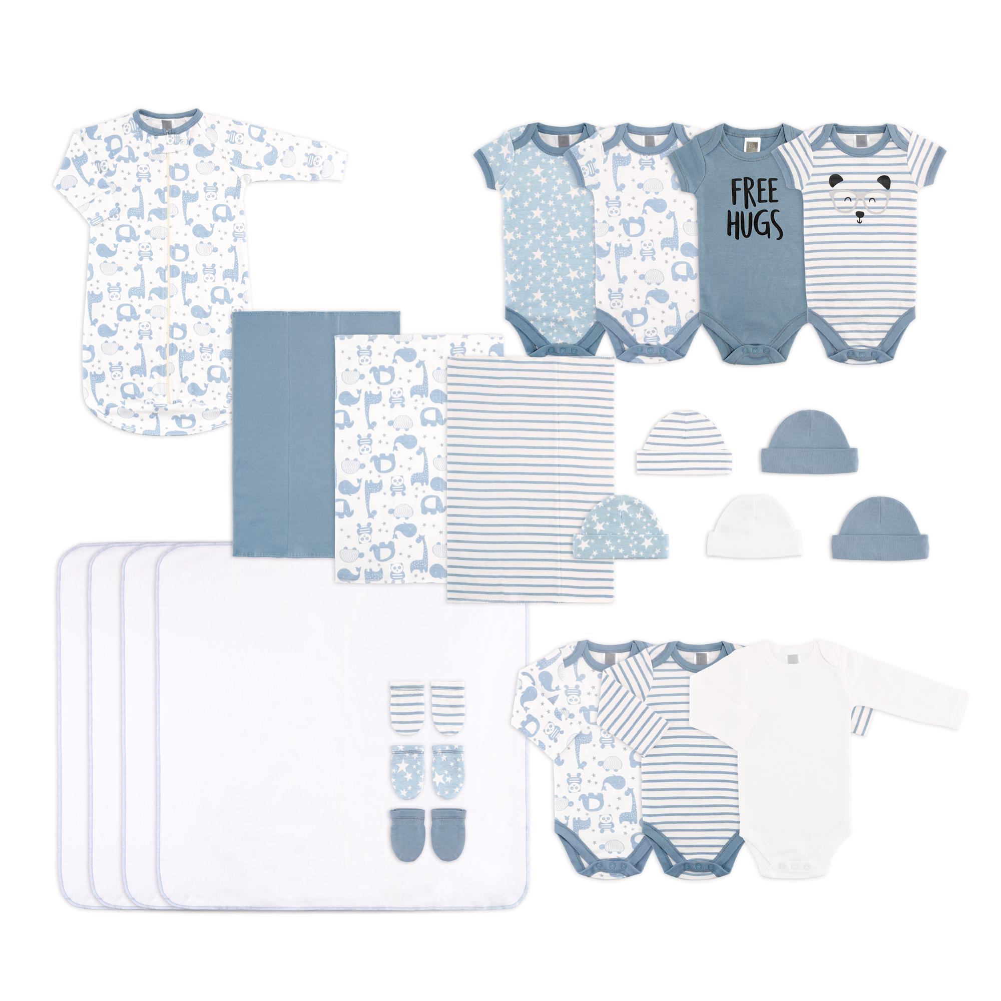 The Peanutshell 23 Piece Newborn Essentials Layette Gift Set