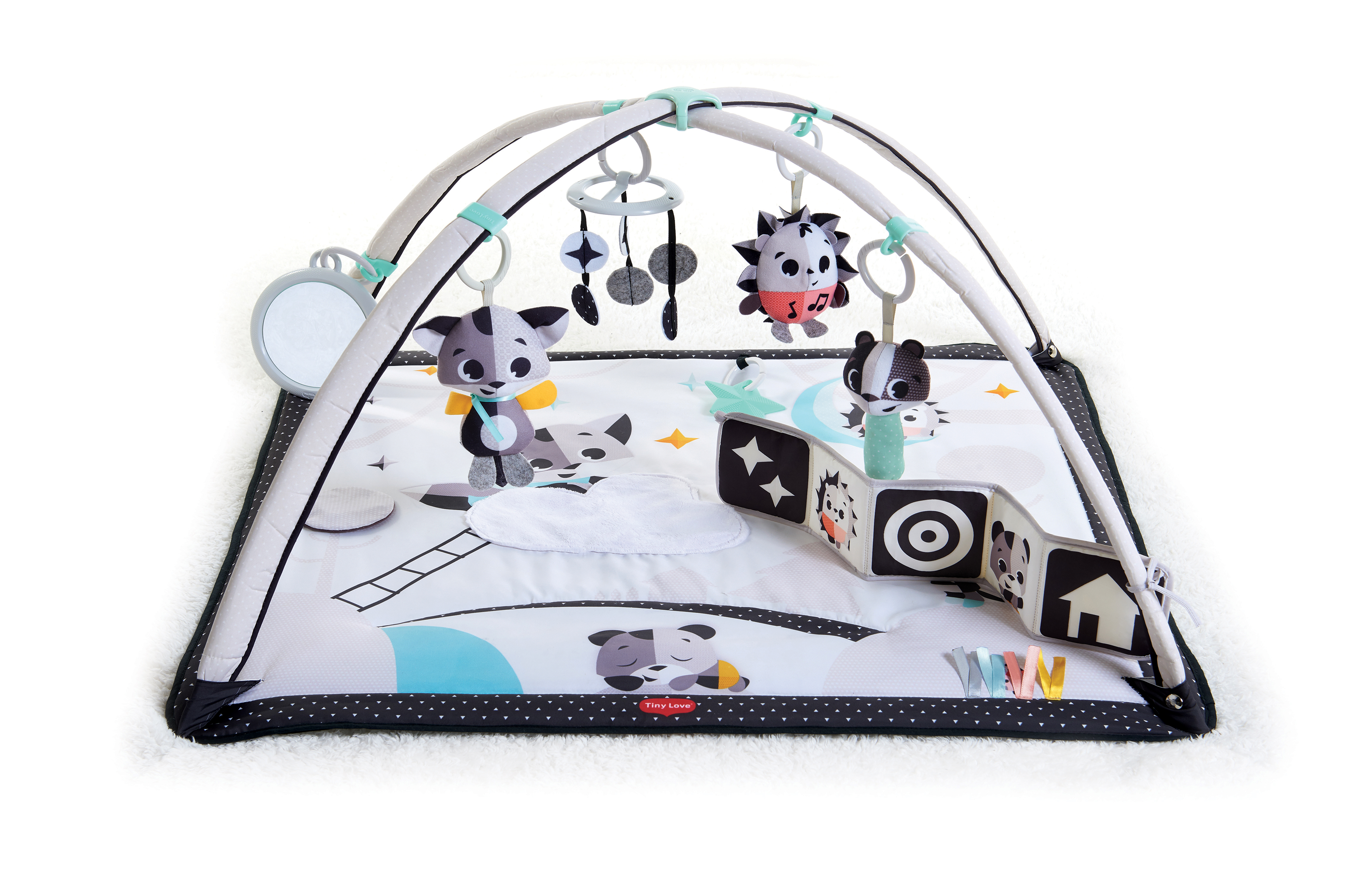 Tiny Love Magical Tales Black & White Gymini Deluxe
