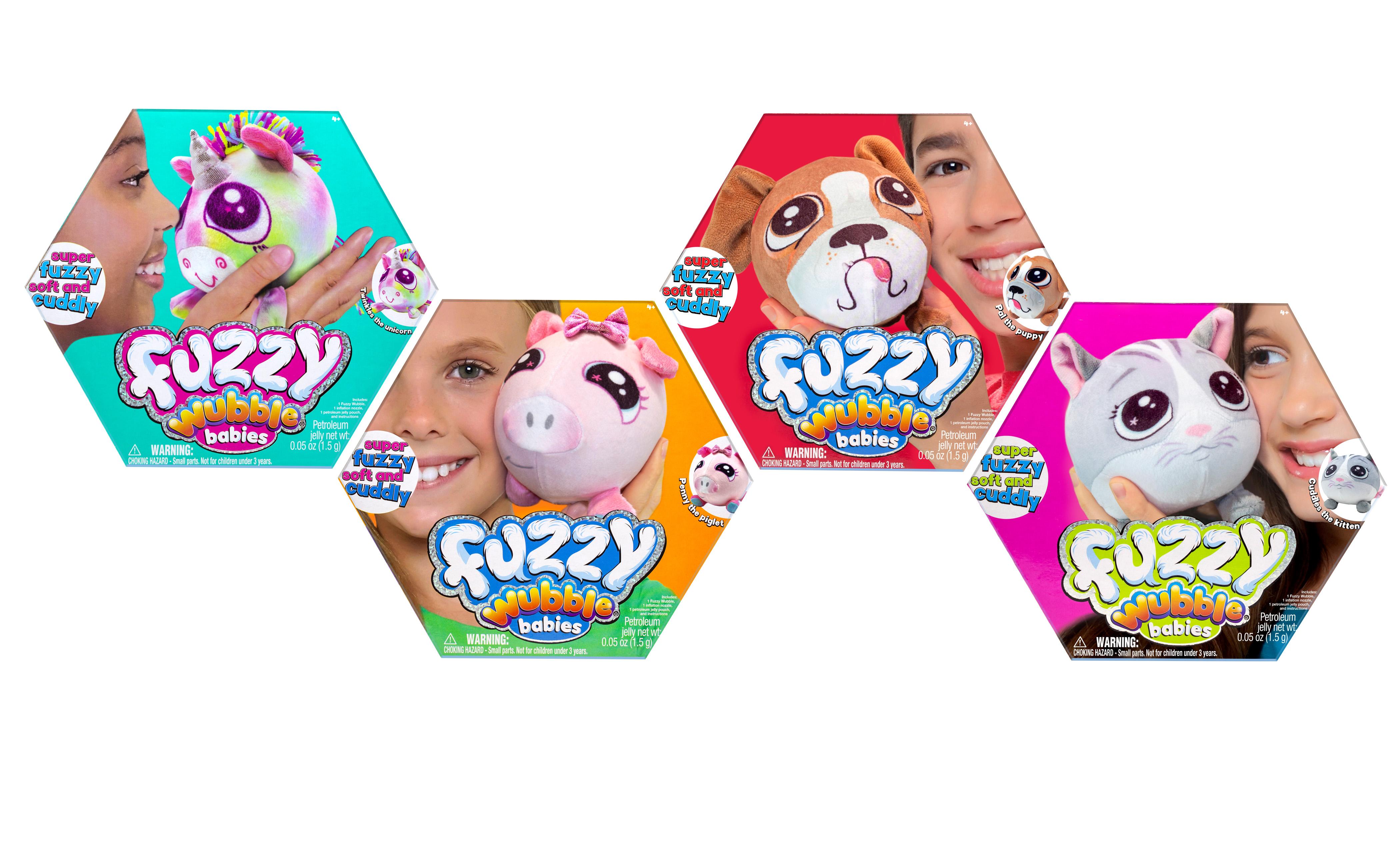 Fuzzy Wubble Babies