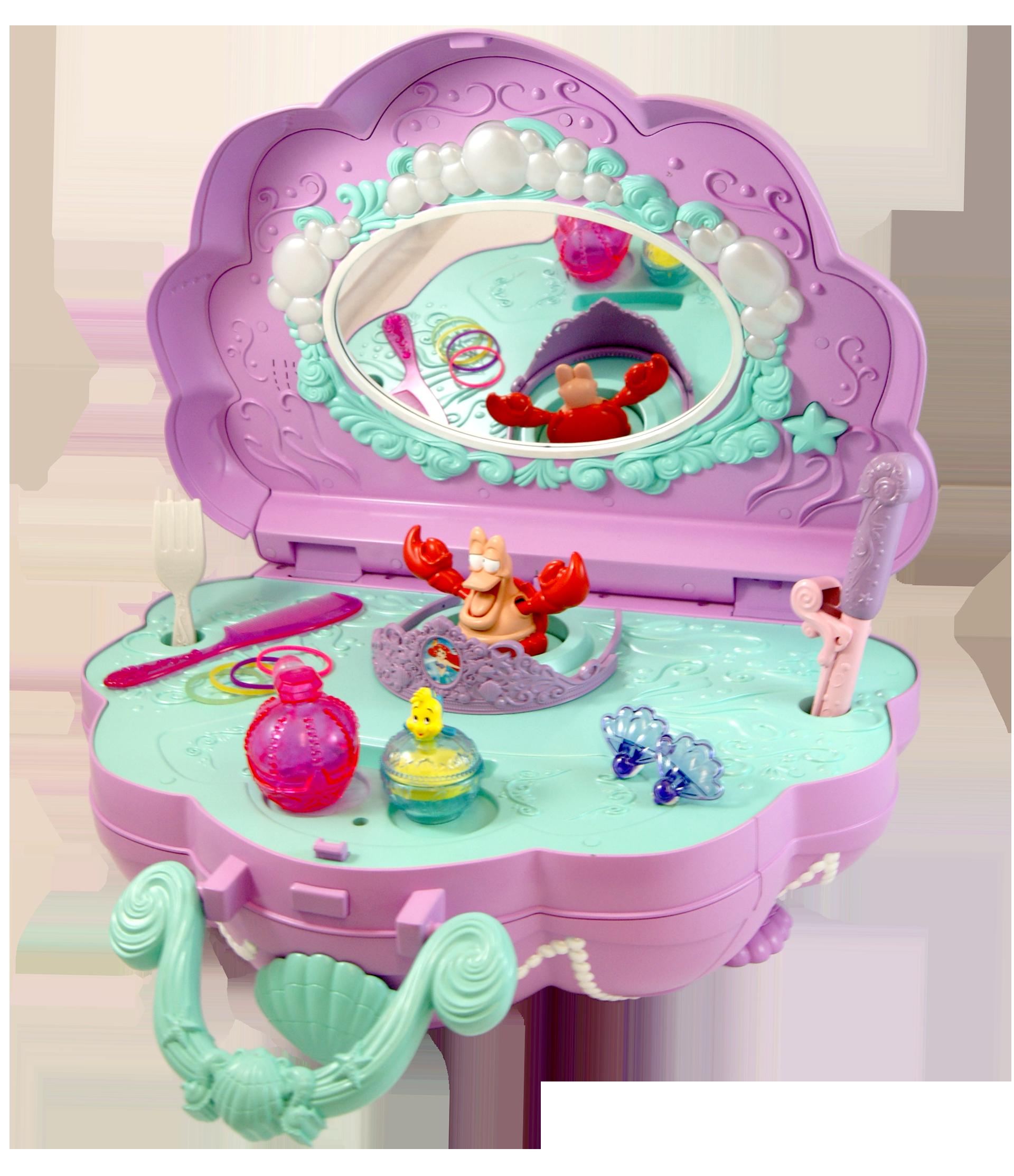 Disney Princess Ariel Music Amp Lights Vanity Nappa Awards