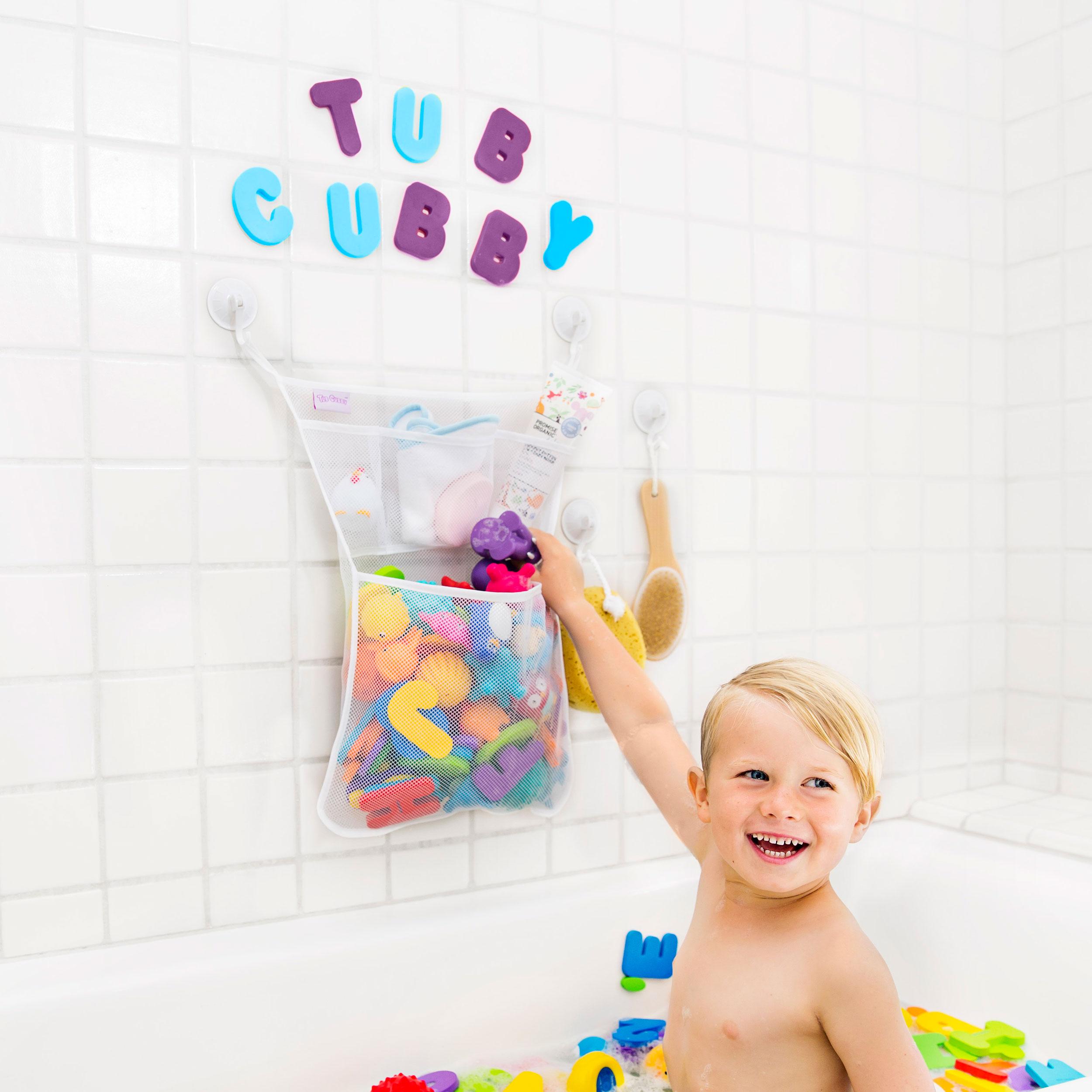 Tub Cubby Bath Toy Organizer