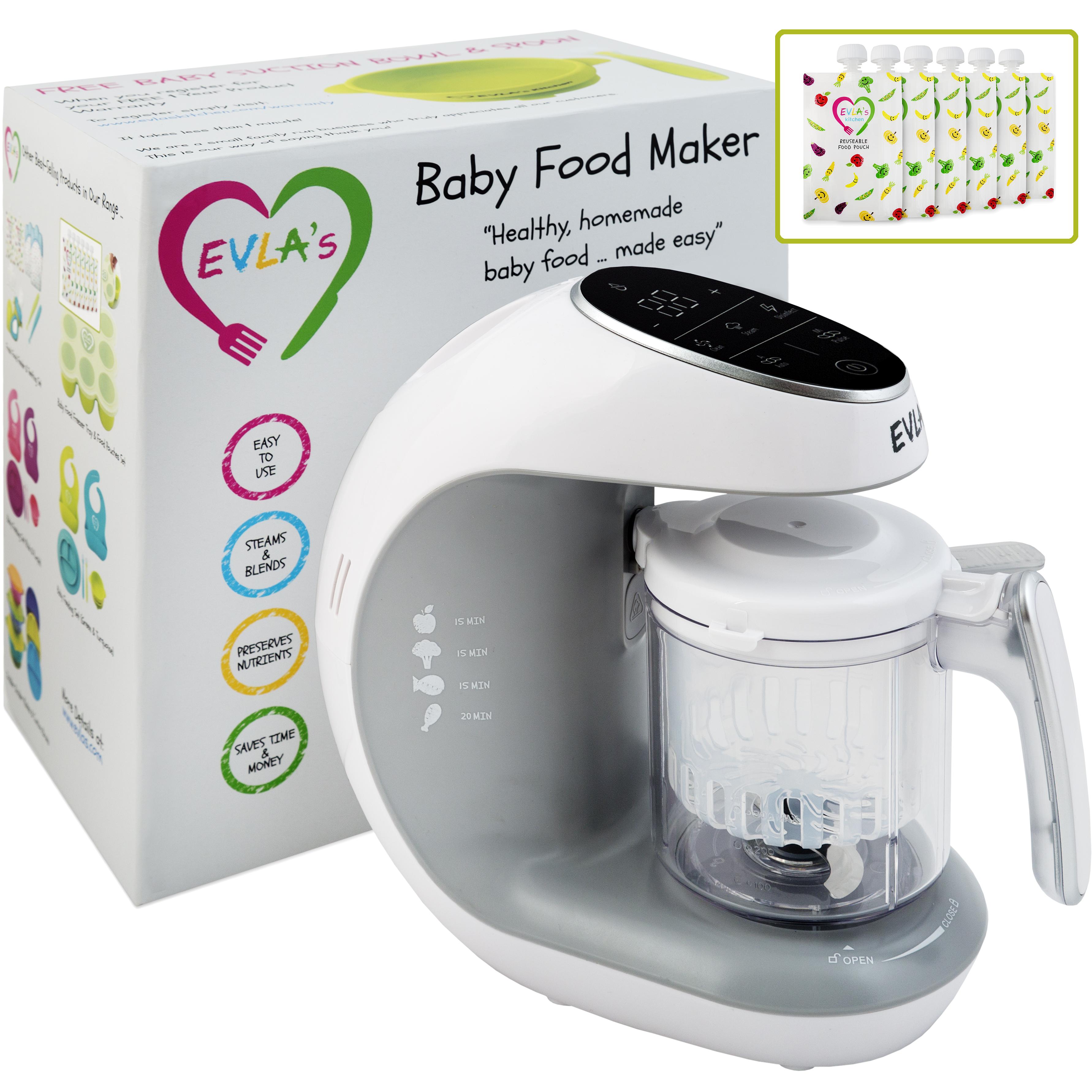EVLA's Kitchen Baby Food Maker