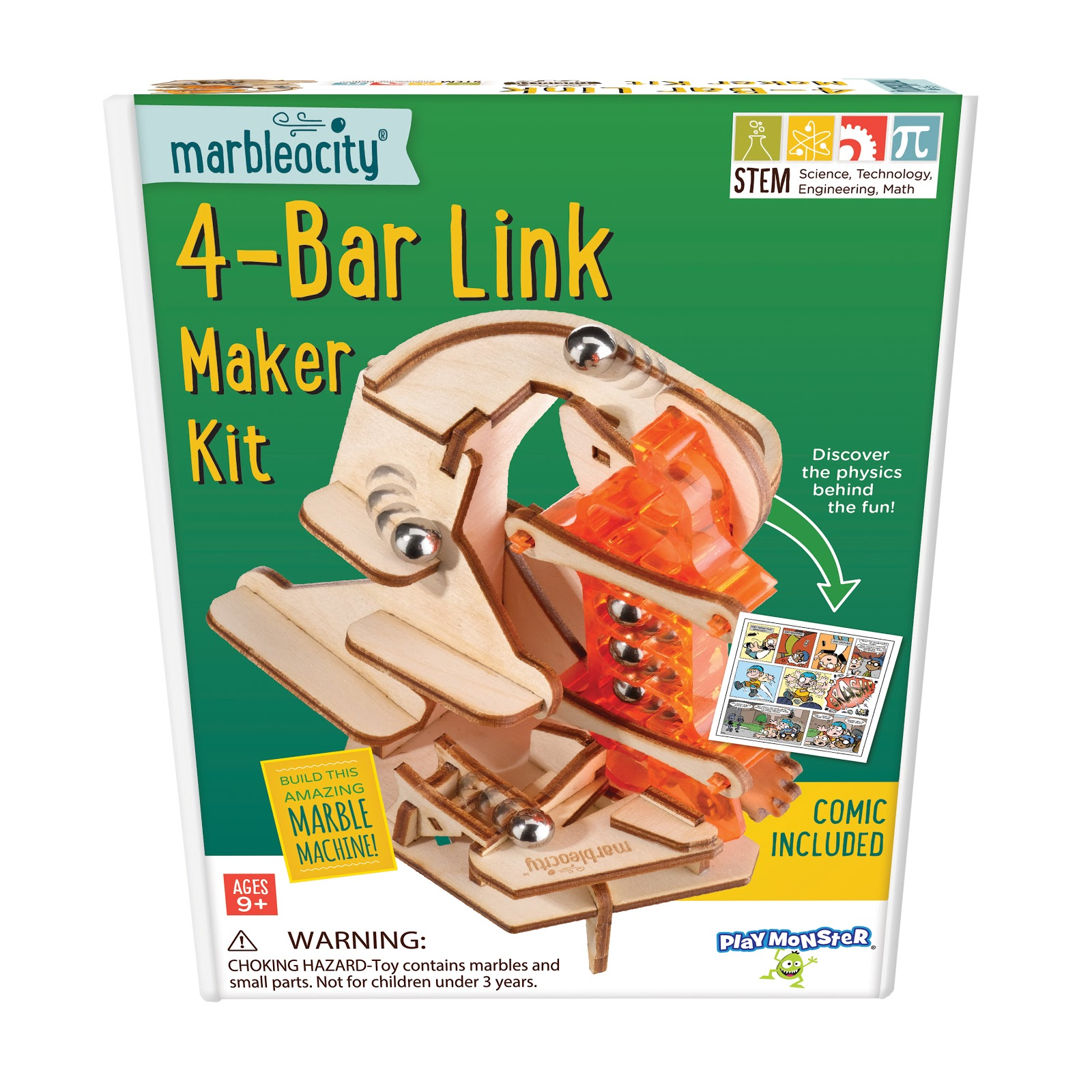 Marbleocity 4-Bar Link