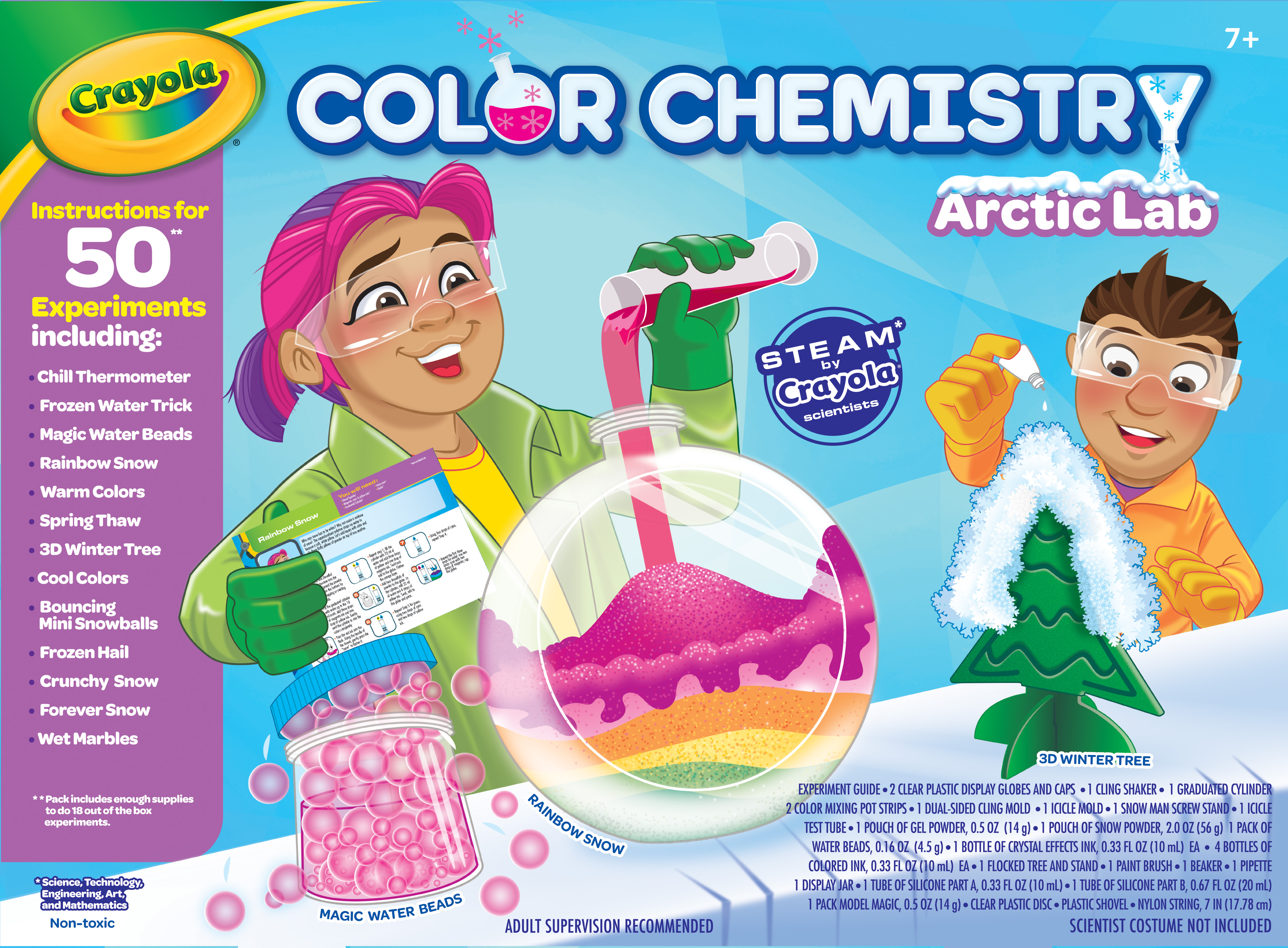 Color Chemistry Arctic Lab
