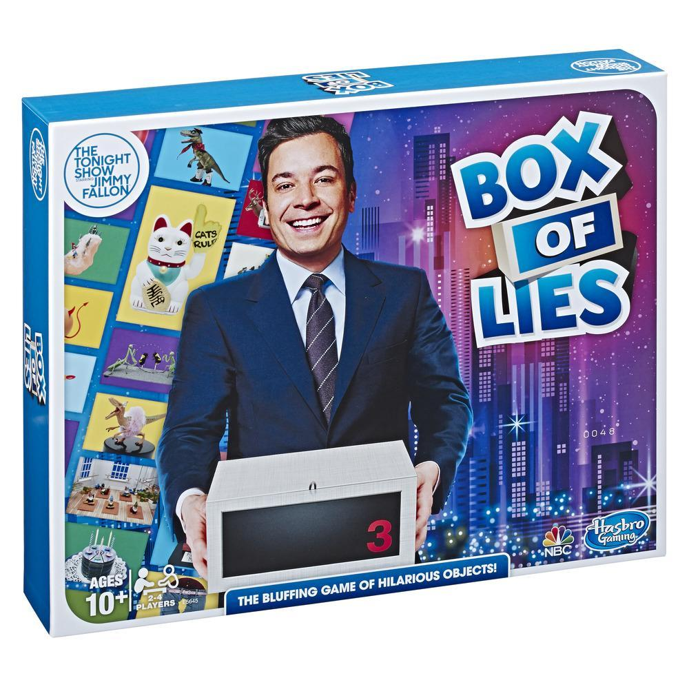 The Tonight Show starring Jimmy Fallon Box of Lies Party Game