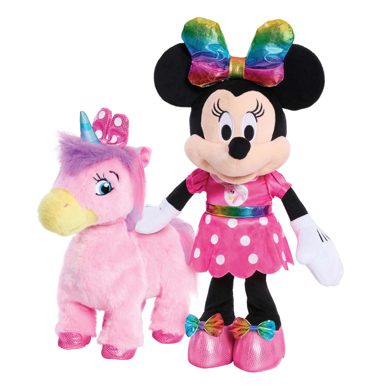 Disney Junior Minnie Walk & Dance Unicorn Feature Plush