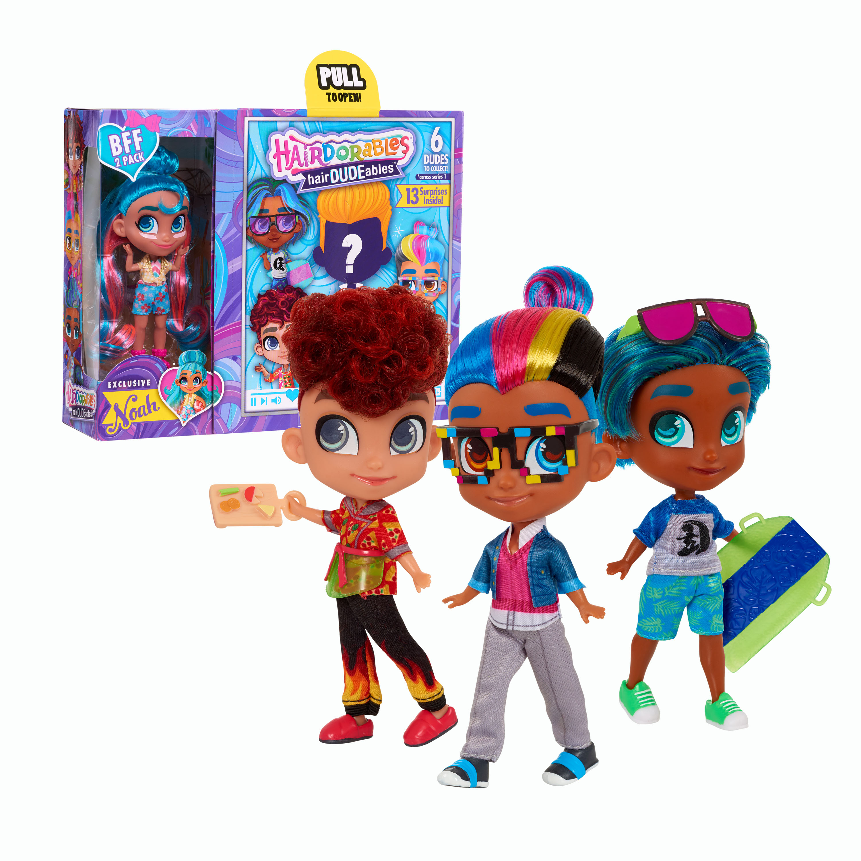 HairDUDEables BFF 2-Pack