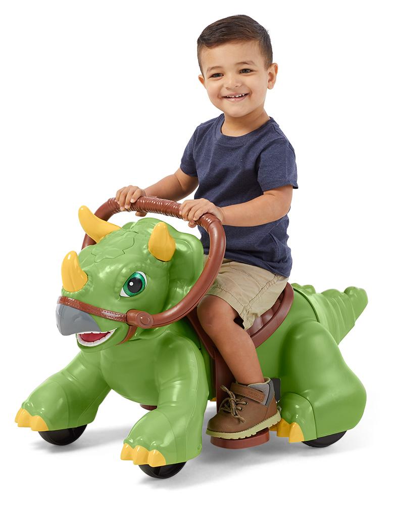 Kid Trax Rideamals Dino