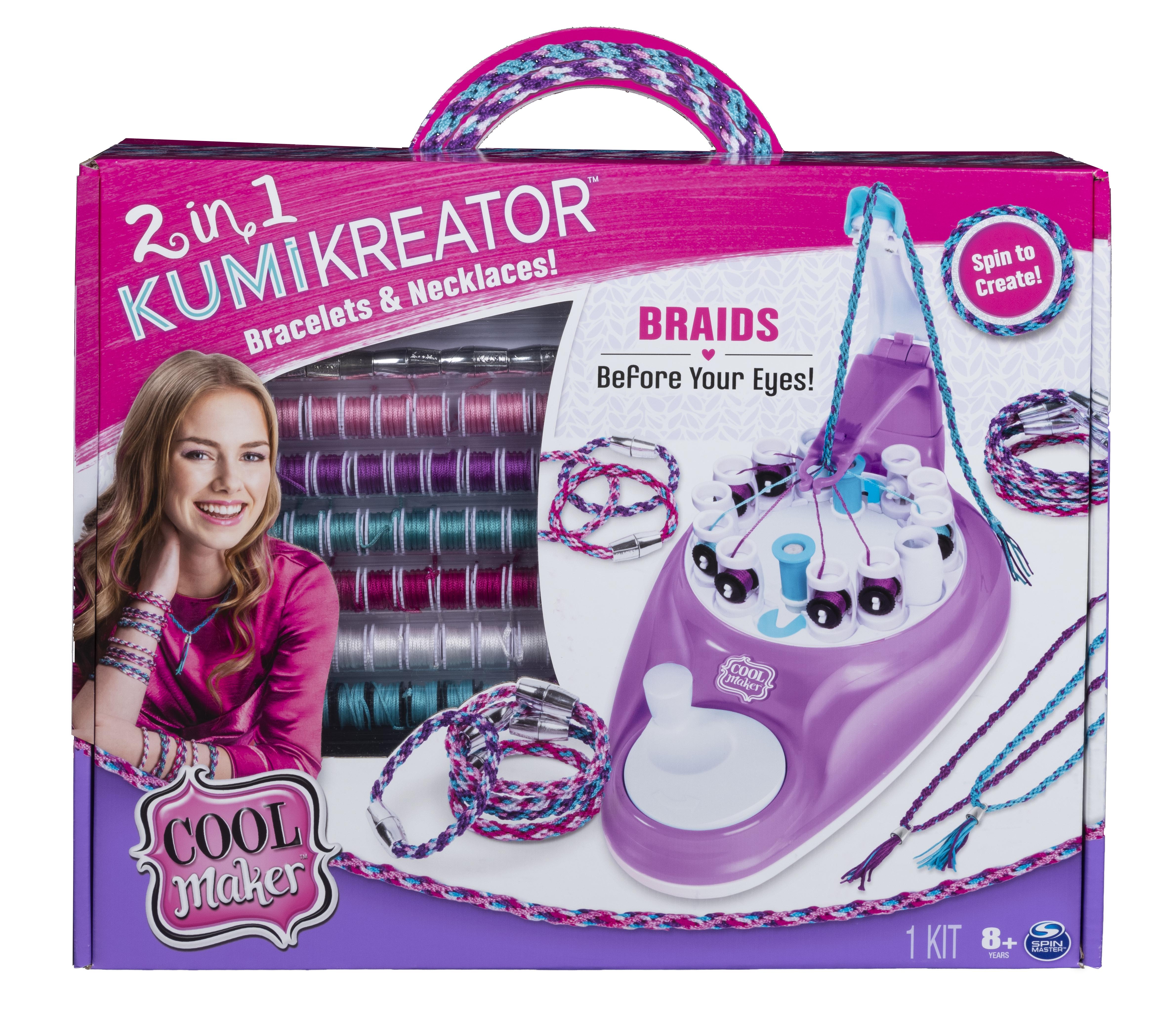 Cool Maker KumiKreator 2‐in‐1 Maker