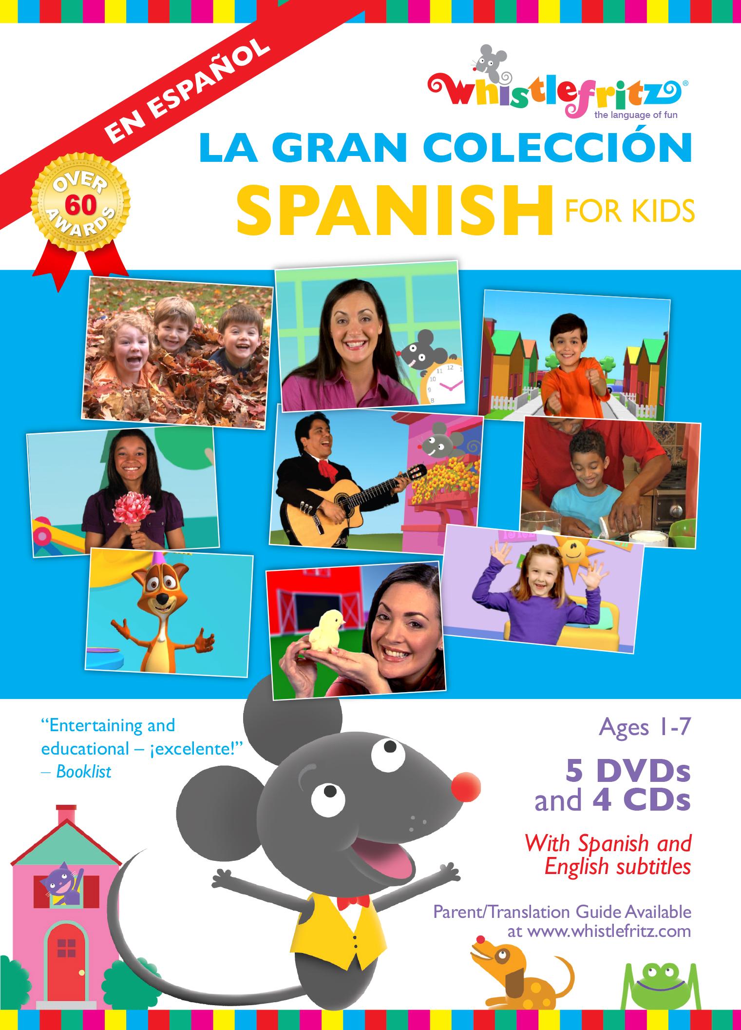SPANISH FOR KIDS:  LA GRAN COLECCIÓN