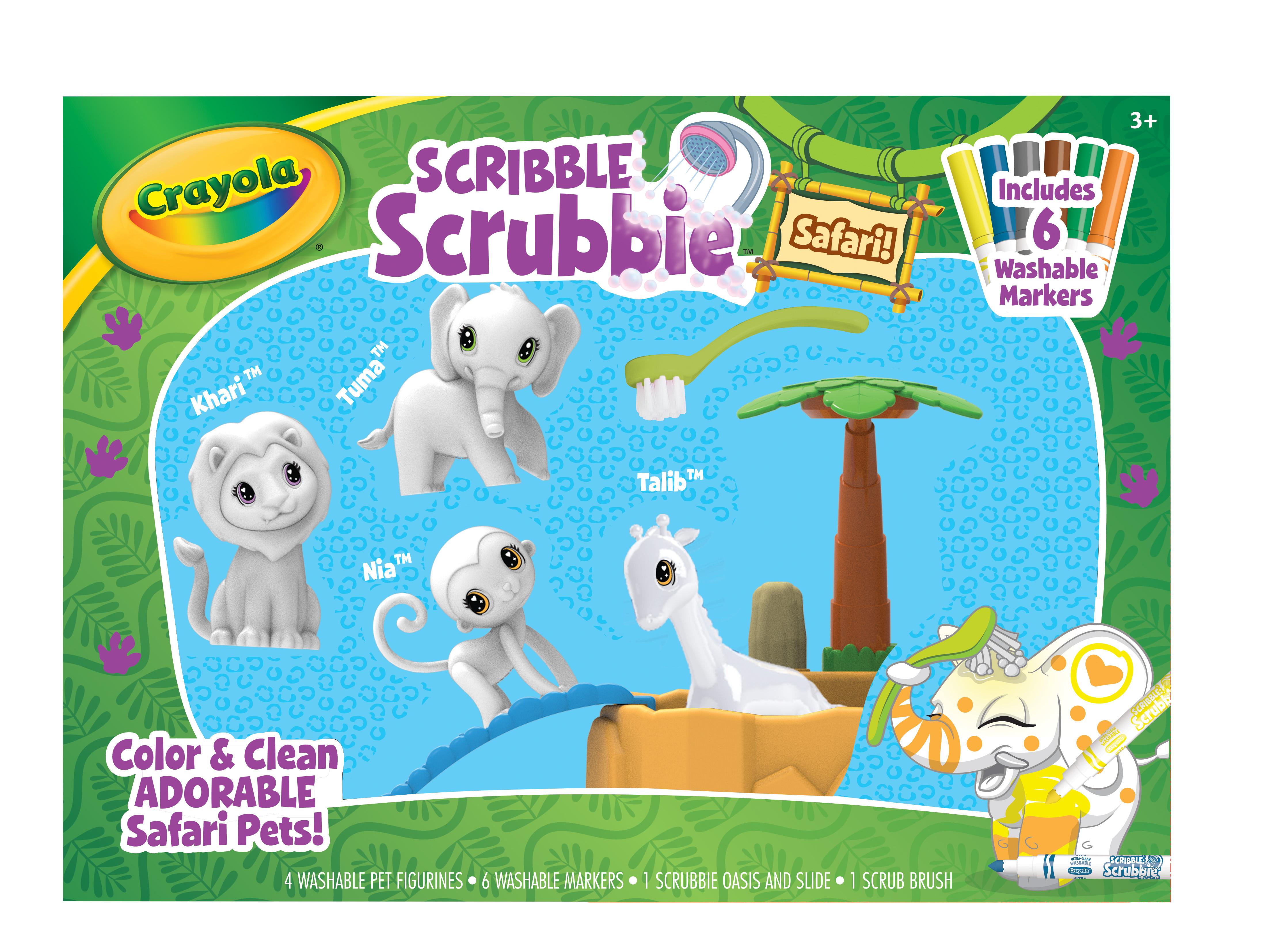 Scribble Scrubbie Safari Oasis