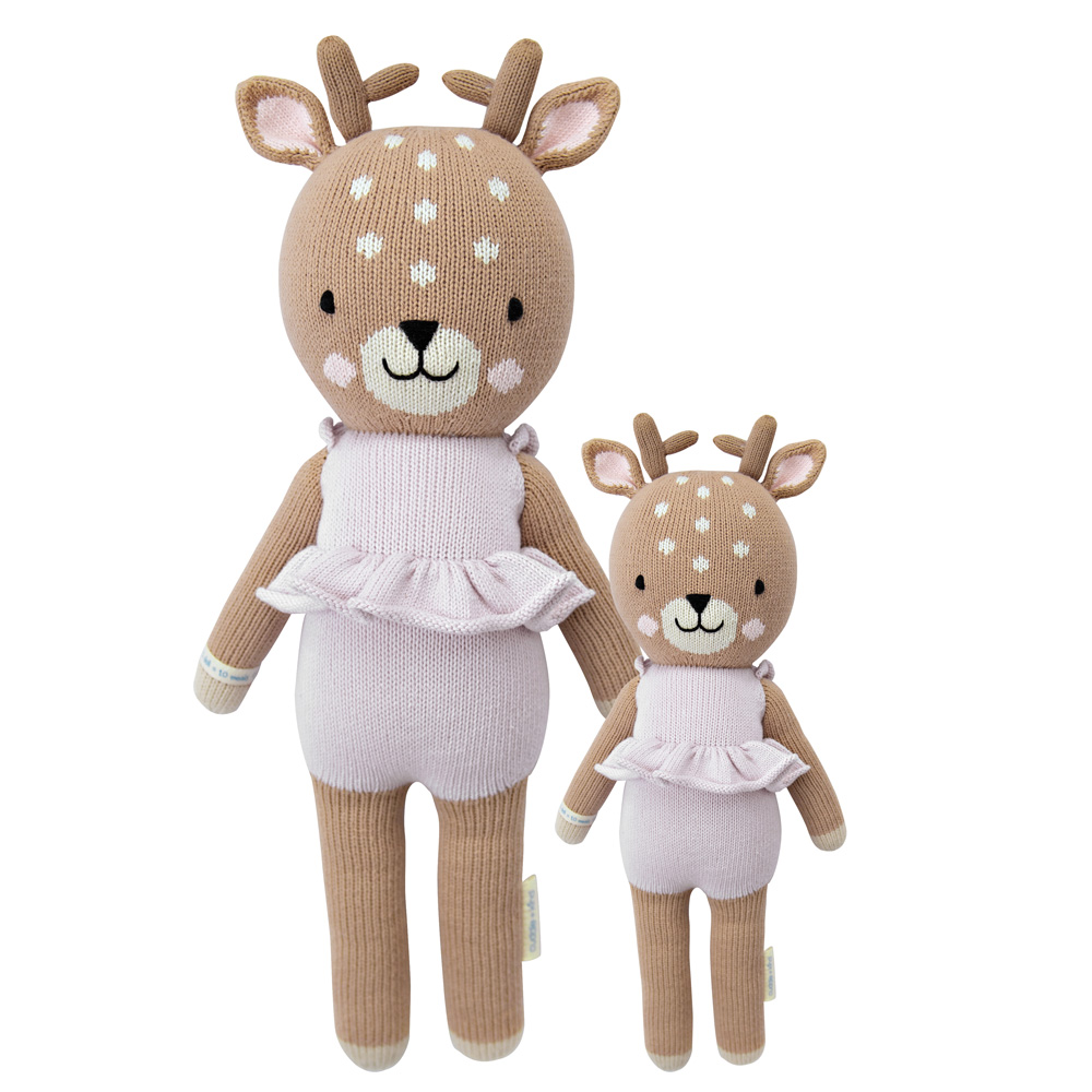 Violet the Fawn Cuddle + Kind Doll
