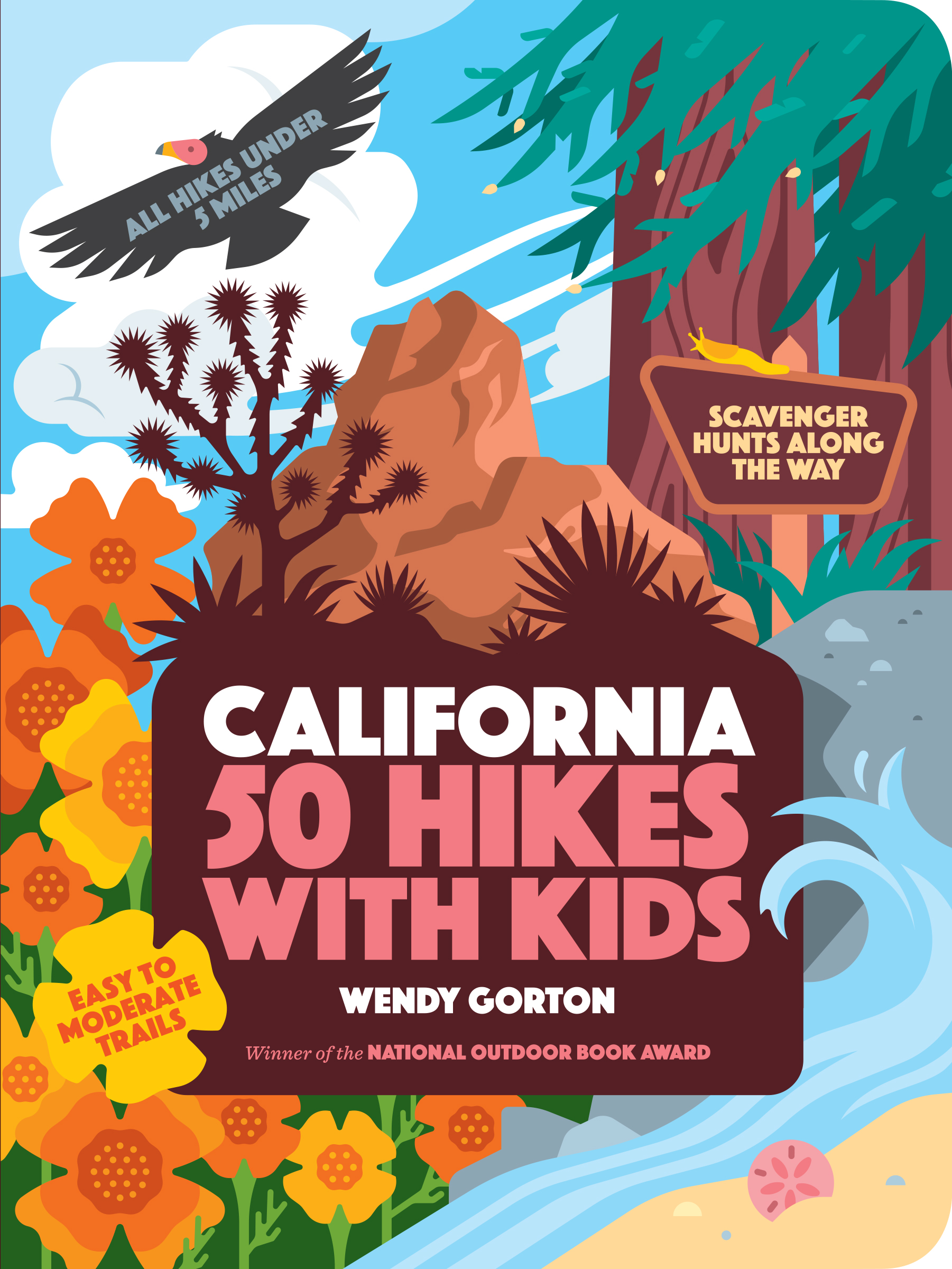 50 Hikes with Kids: California
