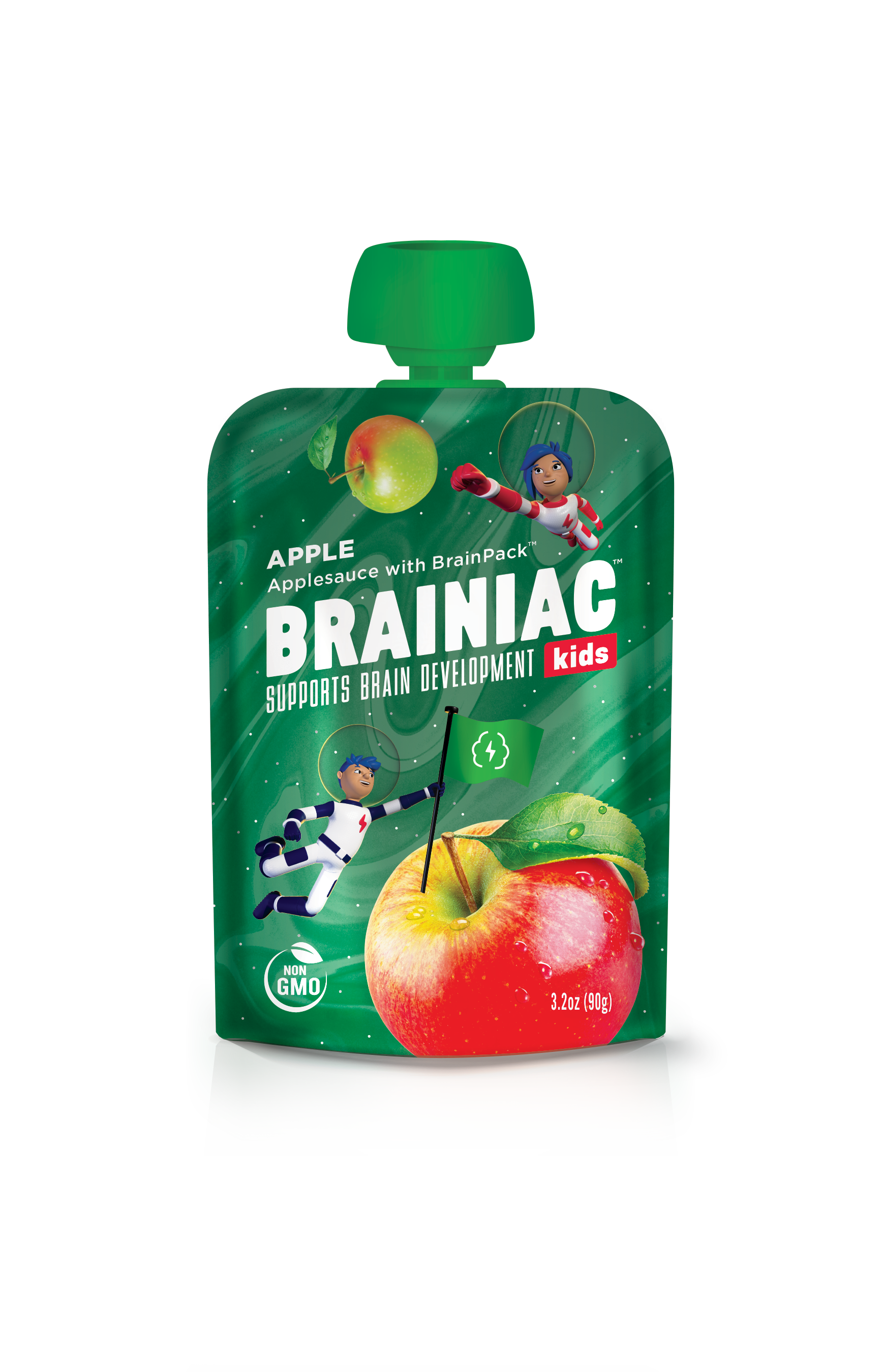 Brainiac Kids Applesauce Pouches