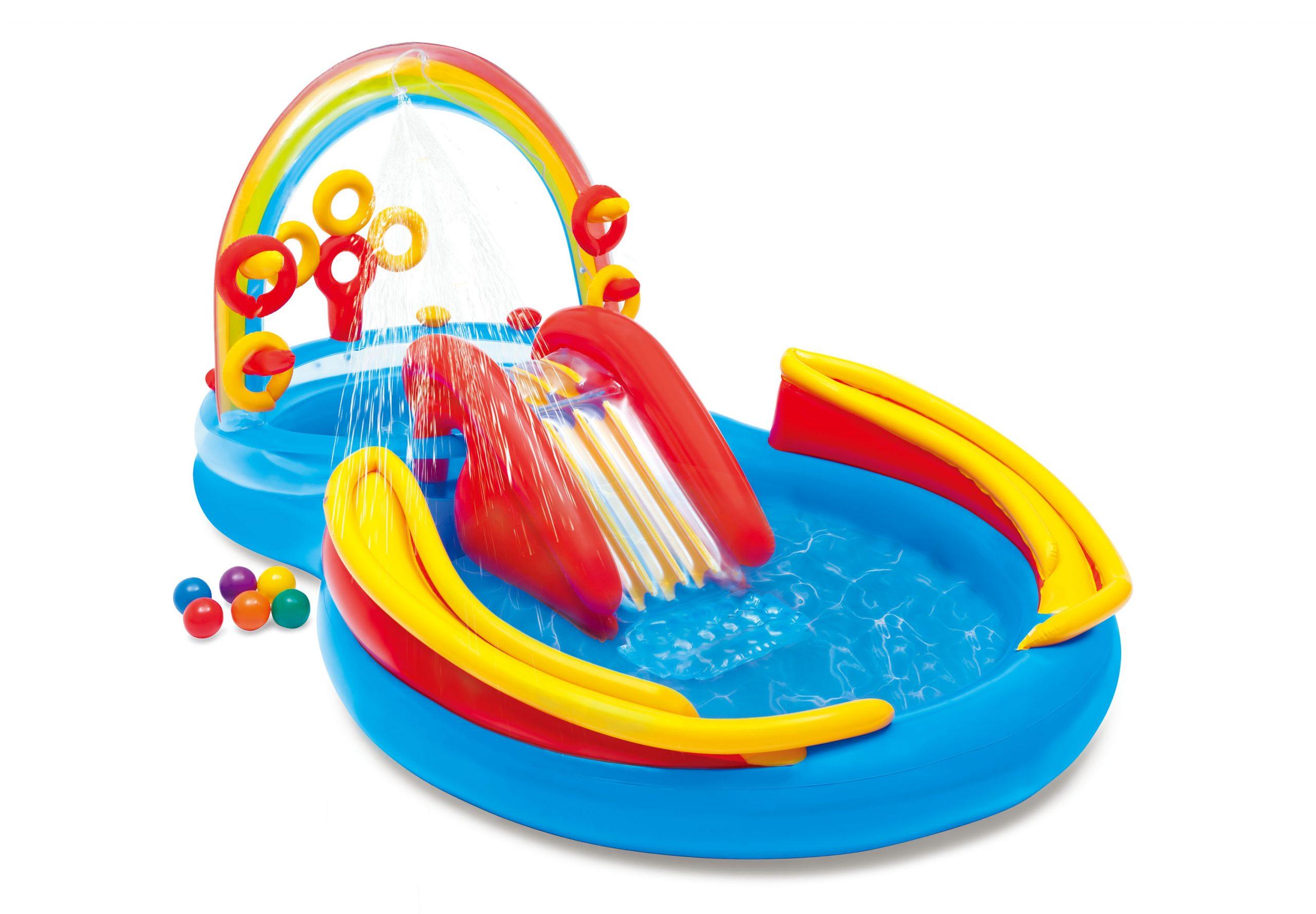 Rainbow Ring Play Center