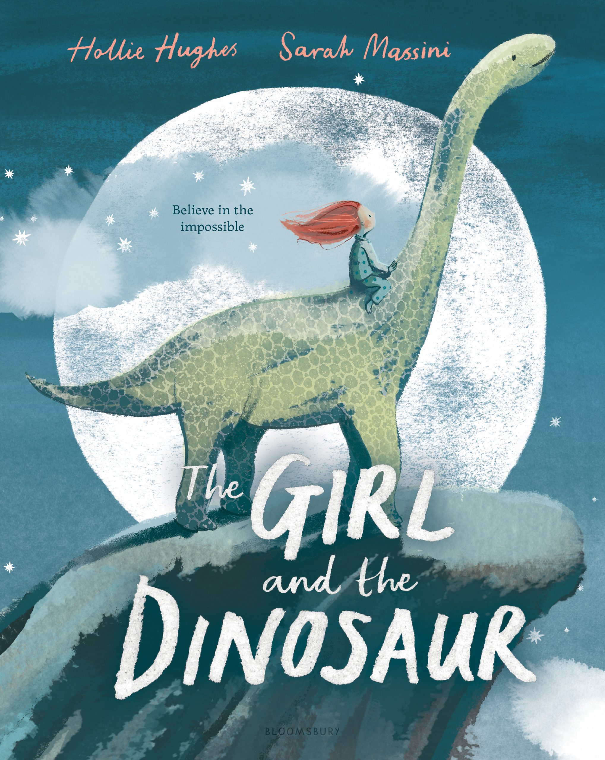 The Girl and the Dinosaur by Hollie Hughes, illustrated by Sarah Massini