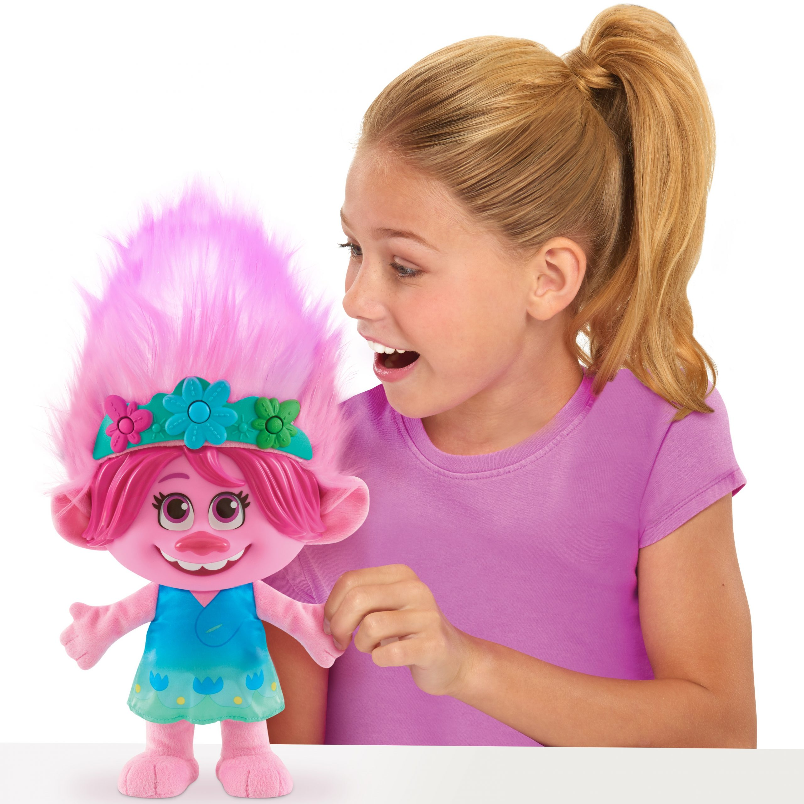 DreamWorks Trolls World Tour Color Poppin' Poppy