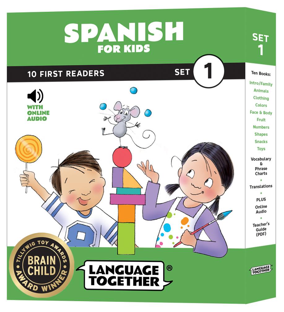 Language Together Spanish for Kids Set 1