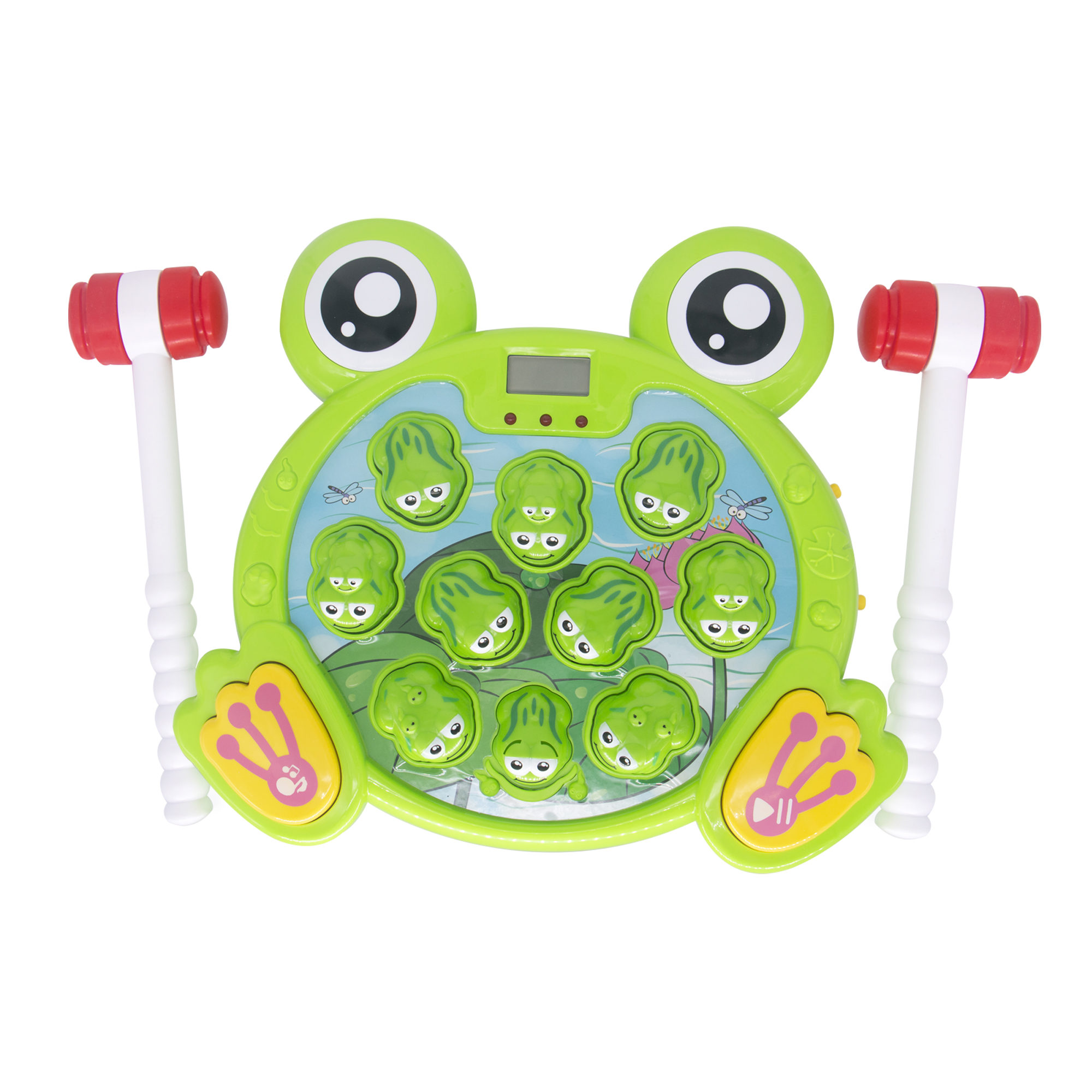 Huggler Whack a Frog Interactive Toy