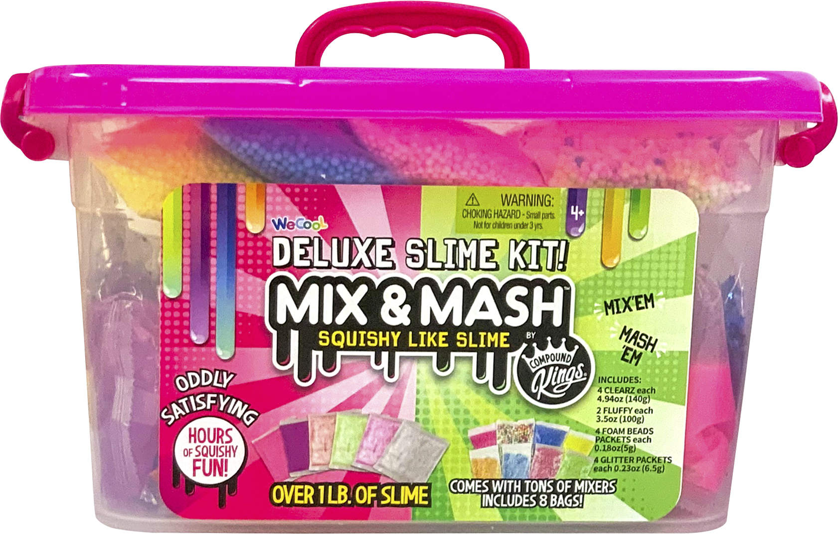 Mix and Mash Deluxe Slime Kit Caddy