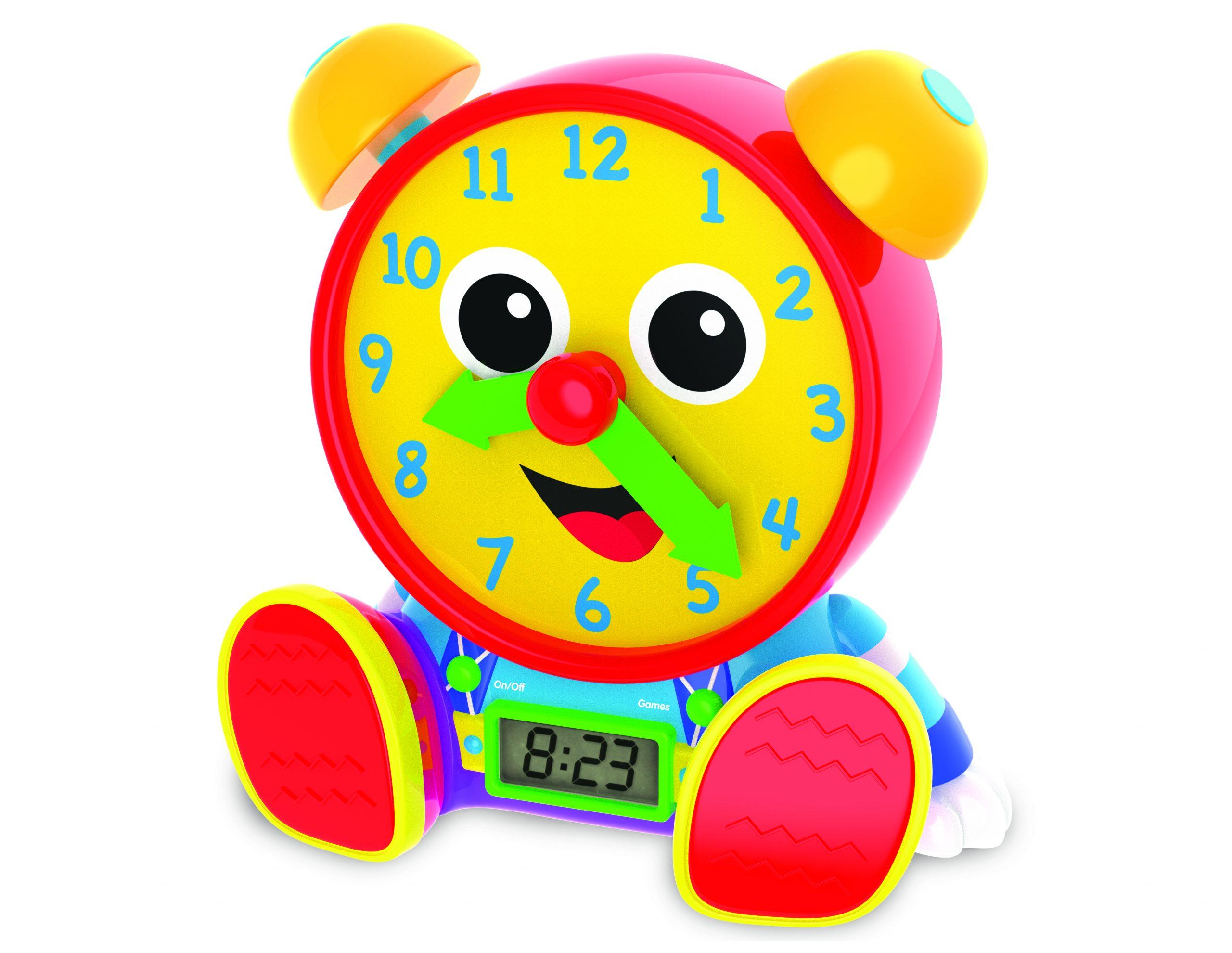 Telly Jr. Teaching Time Clock