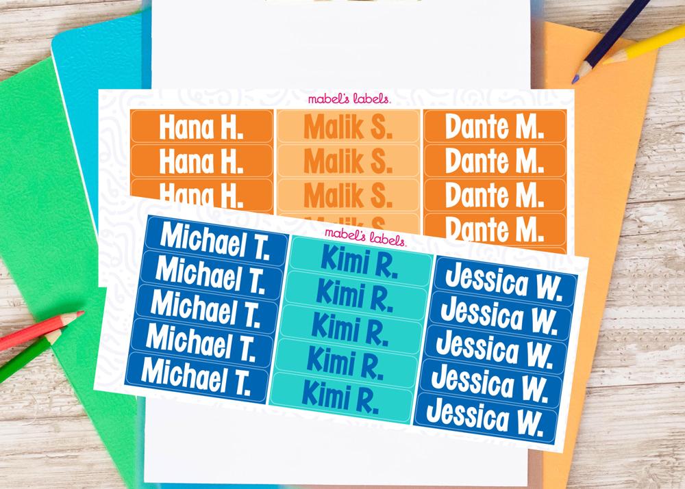 Classroom Name Tags