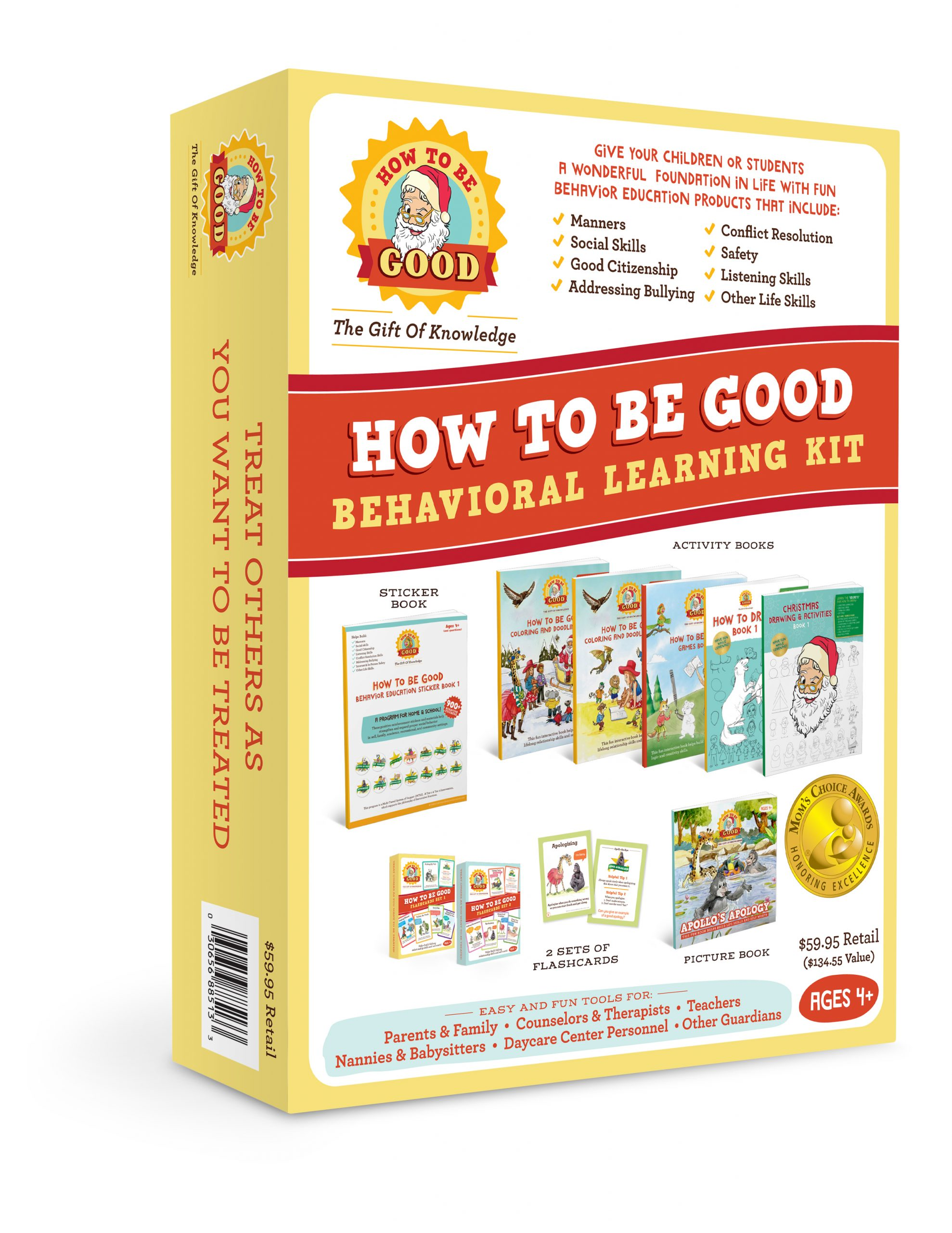 How To Be Good for Santa Behavioral Learning Kit