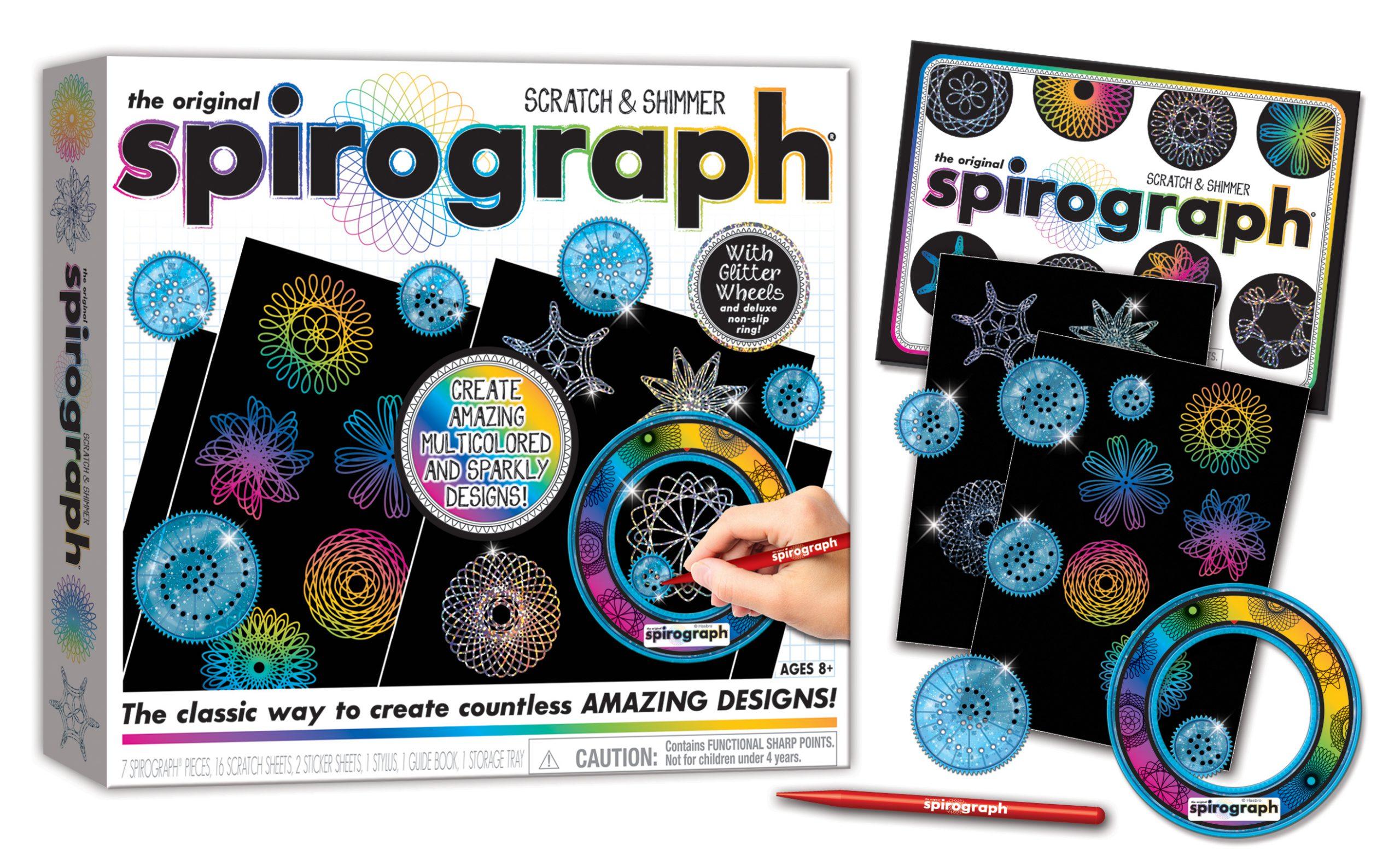 Spirograph Scratch & Shimmer