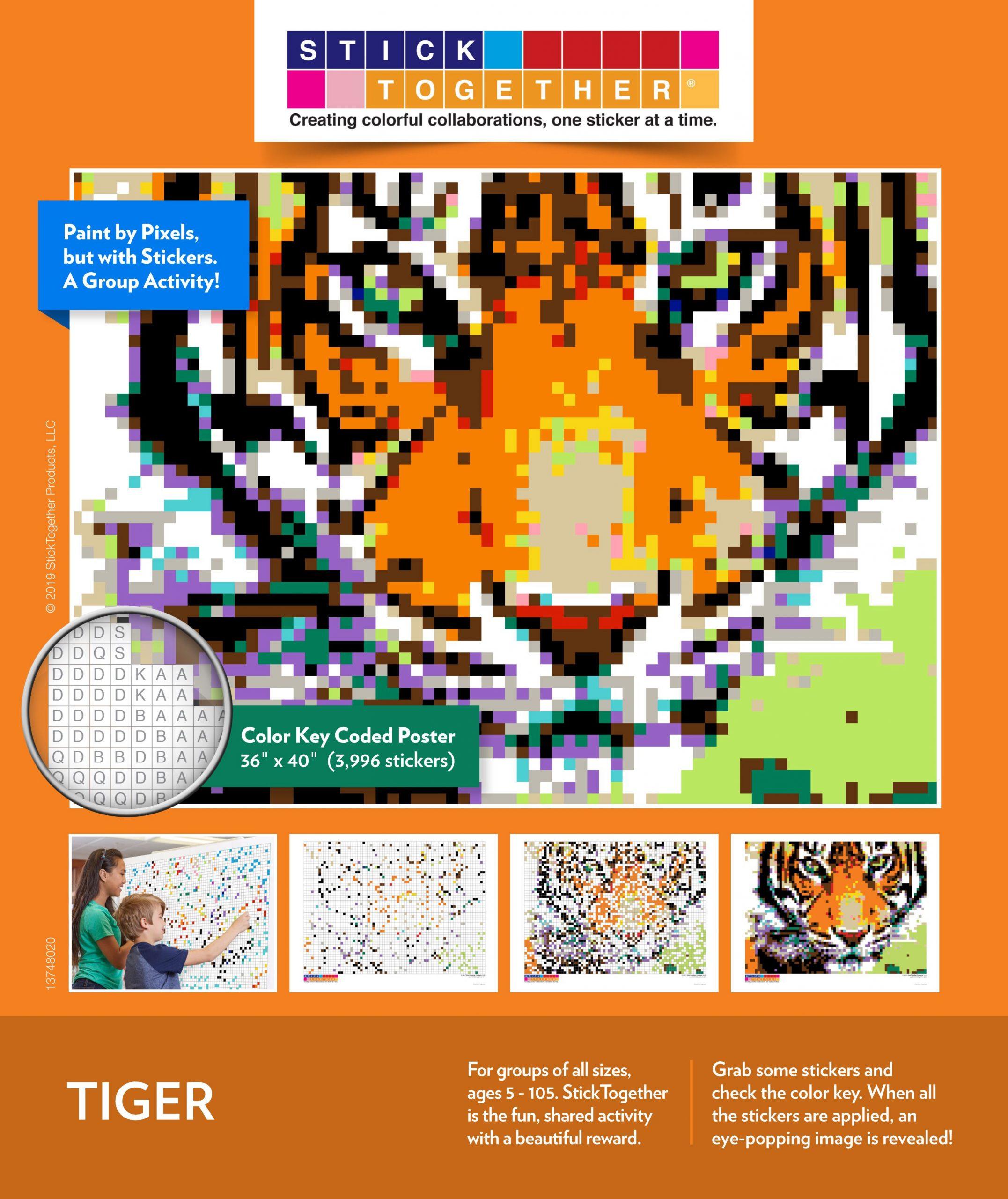 StickTogether Mosaic Puzzle
