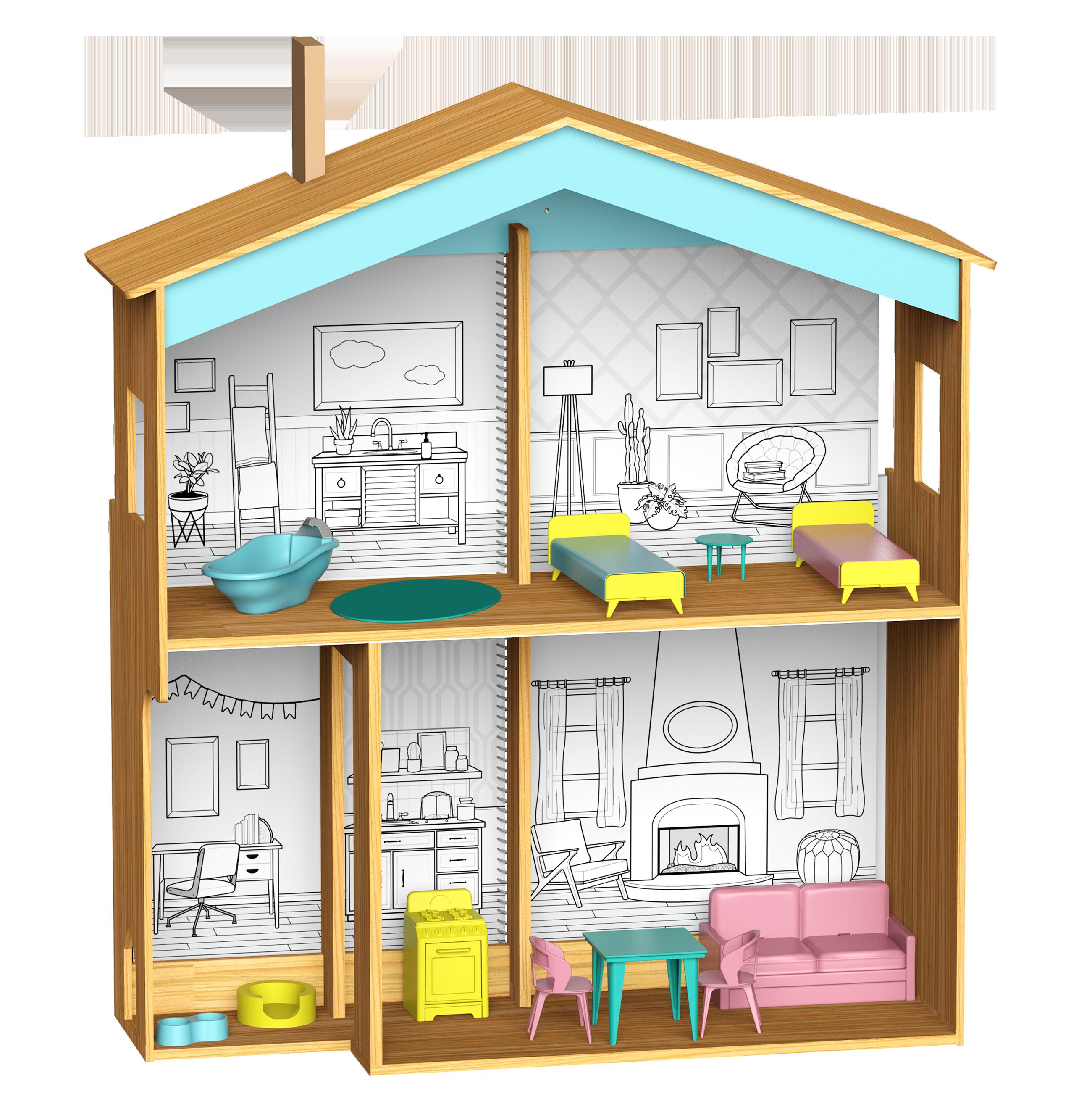 Designed By Me: Color Decor Dollhouse