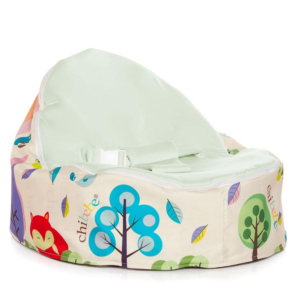 The Chibebe® Snuggle Pod® Baby Bean Bag