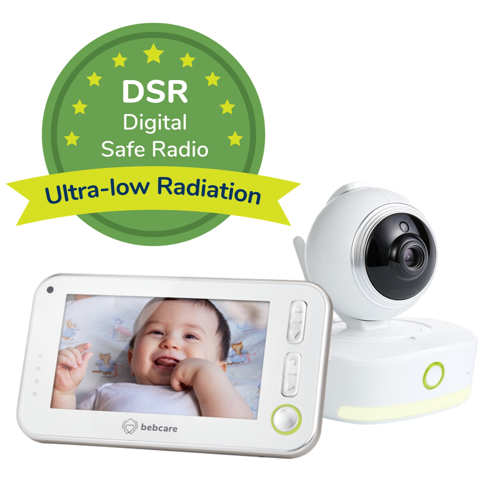 Bebcare Motion Video Baby Monitor with 4.3-Inch True Color Screen