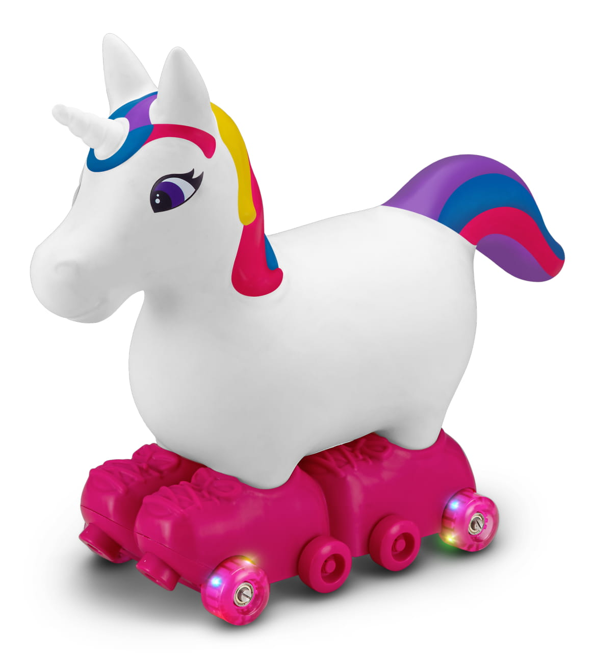 Silly Skaters Unicorn Inflatable Ride-On Toy by Kid Trax