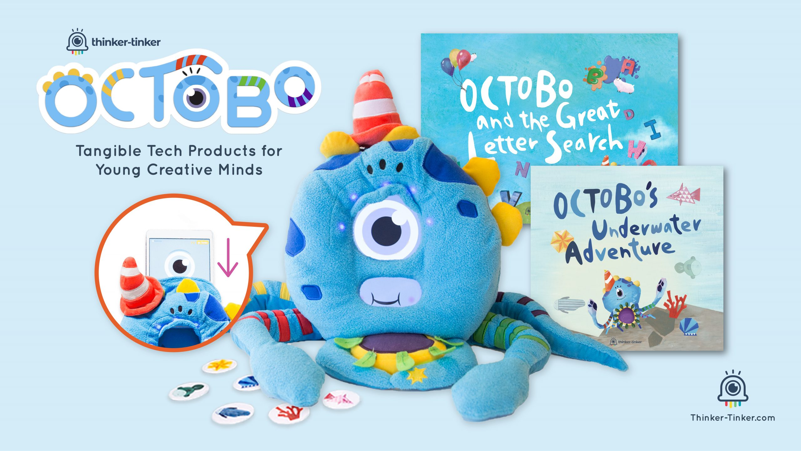 Octobo, The Tech Toy That Teaches