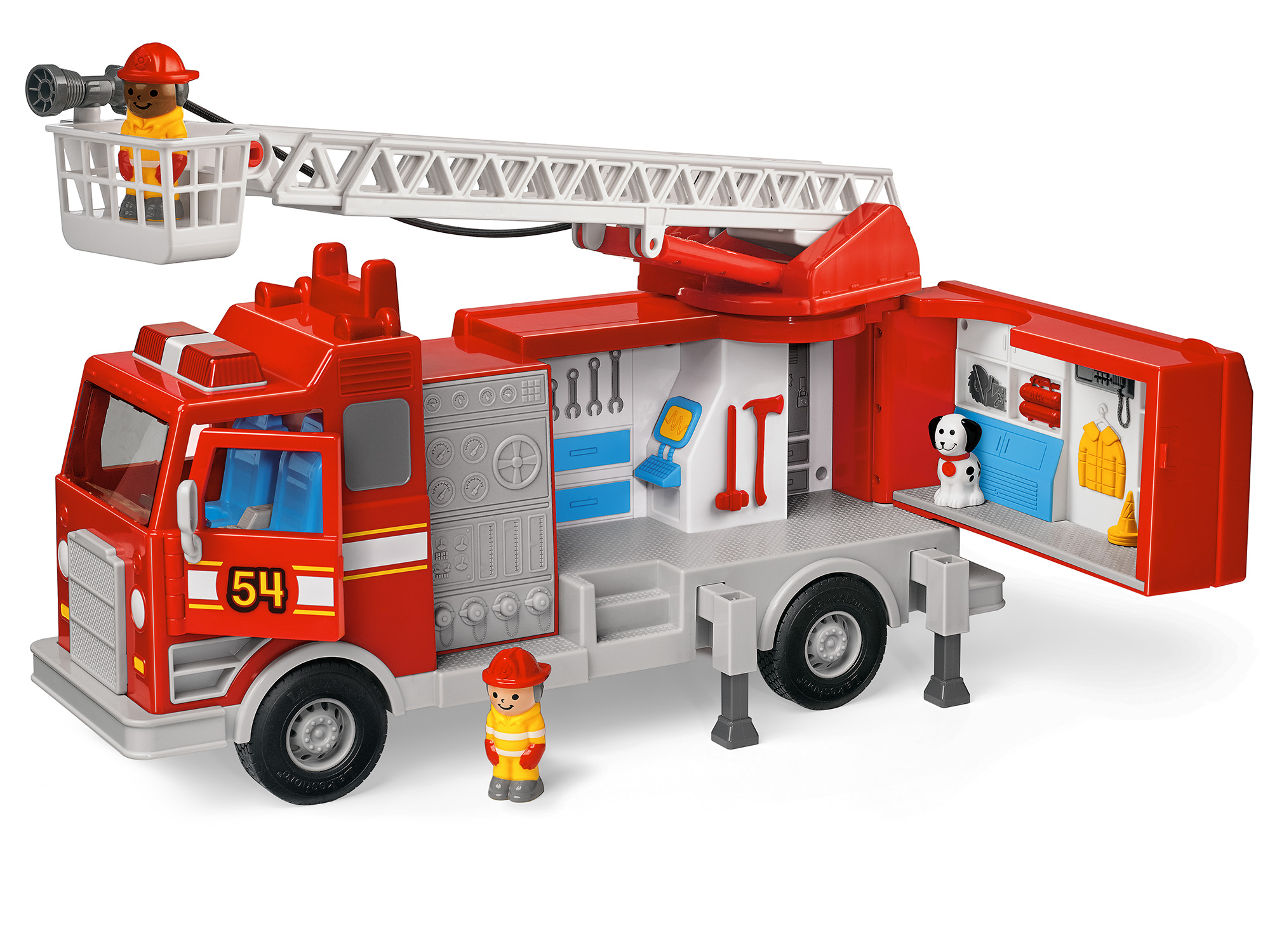 Real-Action Fire Engine