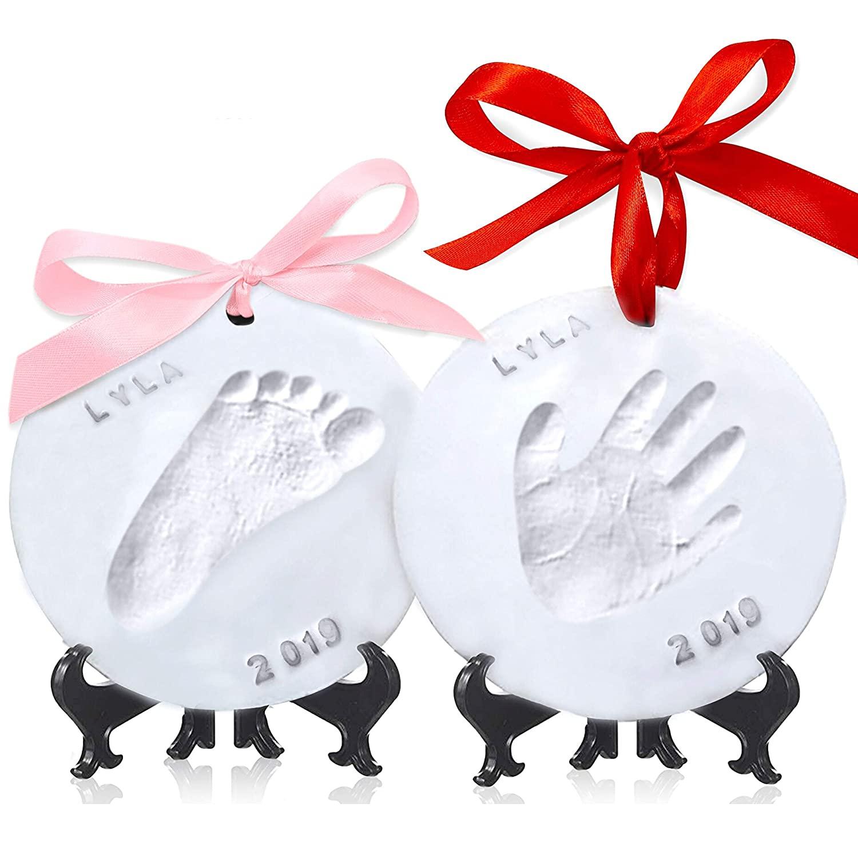 Cherish Baby Handprint Keepsake Ornament