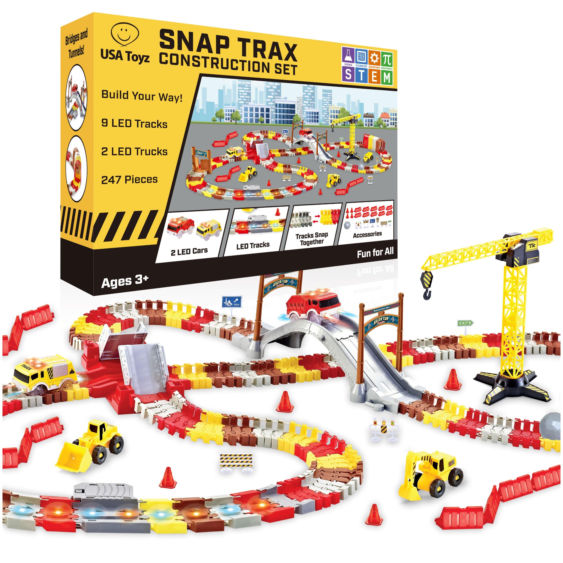 Snap Trax Construction Set