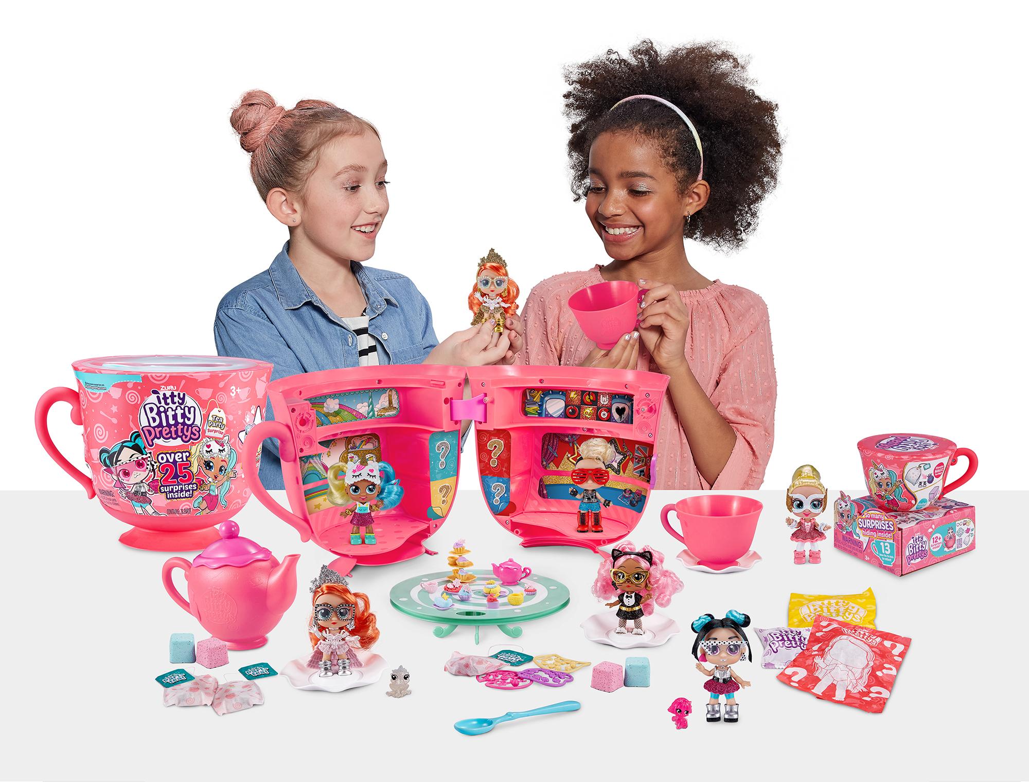 Itty Bitty Prettys Giant Teacup Playset