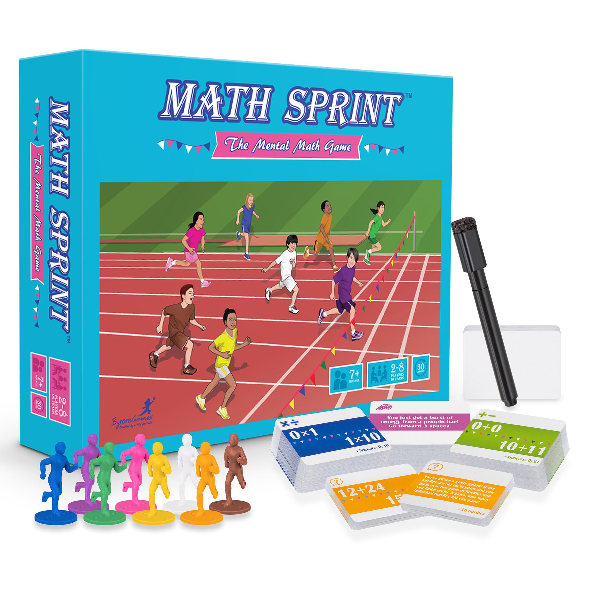 Math Sprint ~ The Mental Math Game