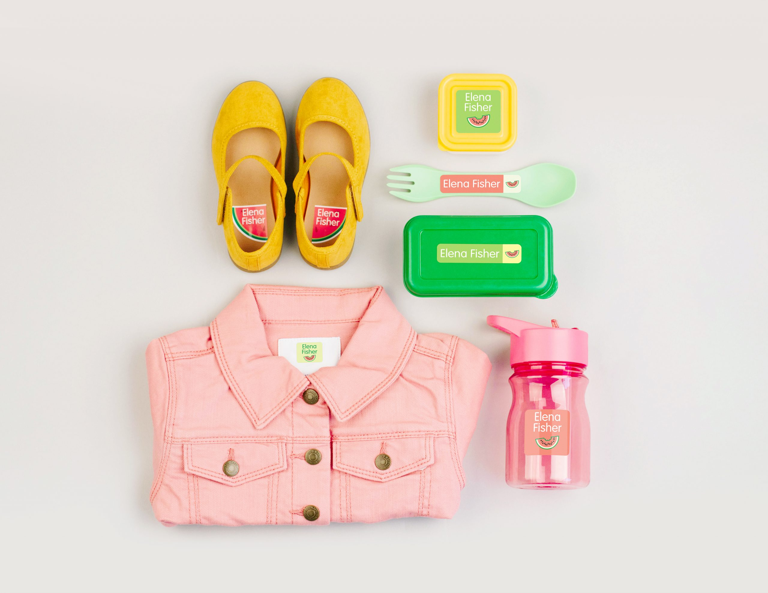 Preschool Label Pack