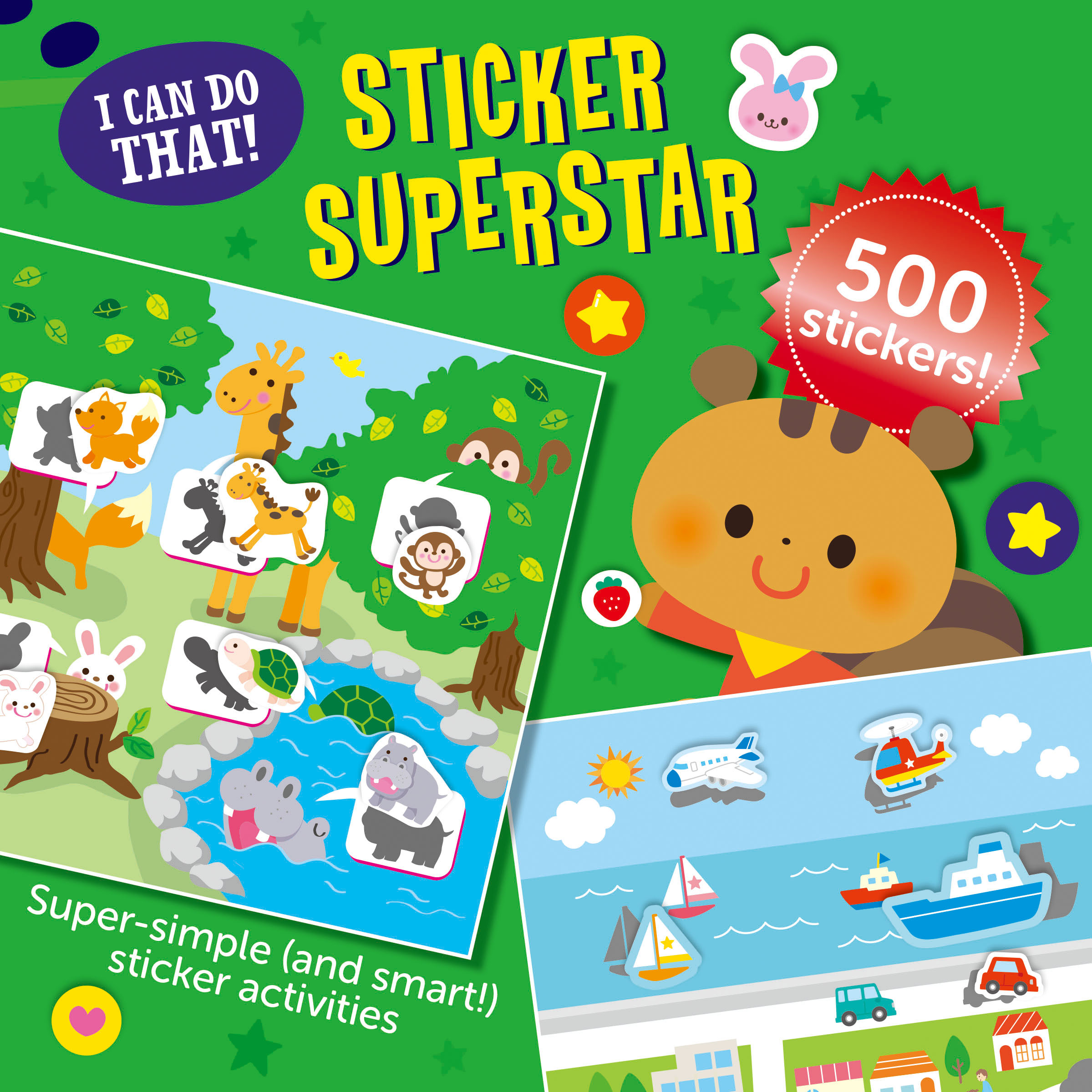 I CAN DO THAT! Sticker Superstar