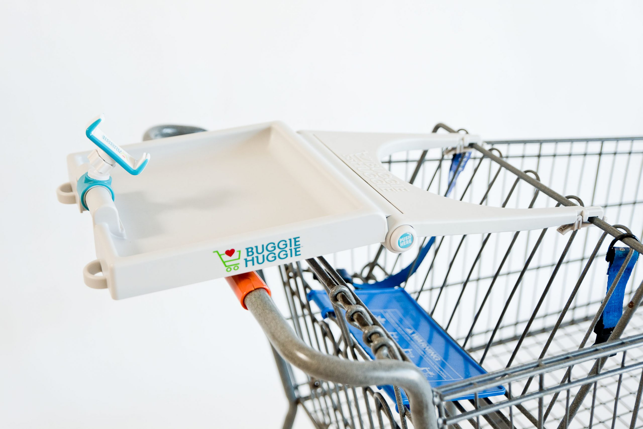 Buggie Huggie™ Shopping Cart Tray