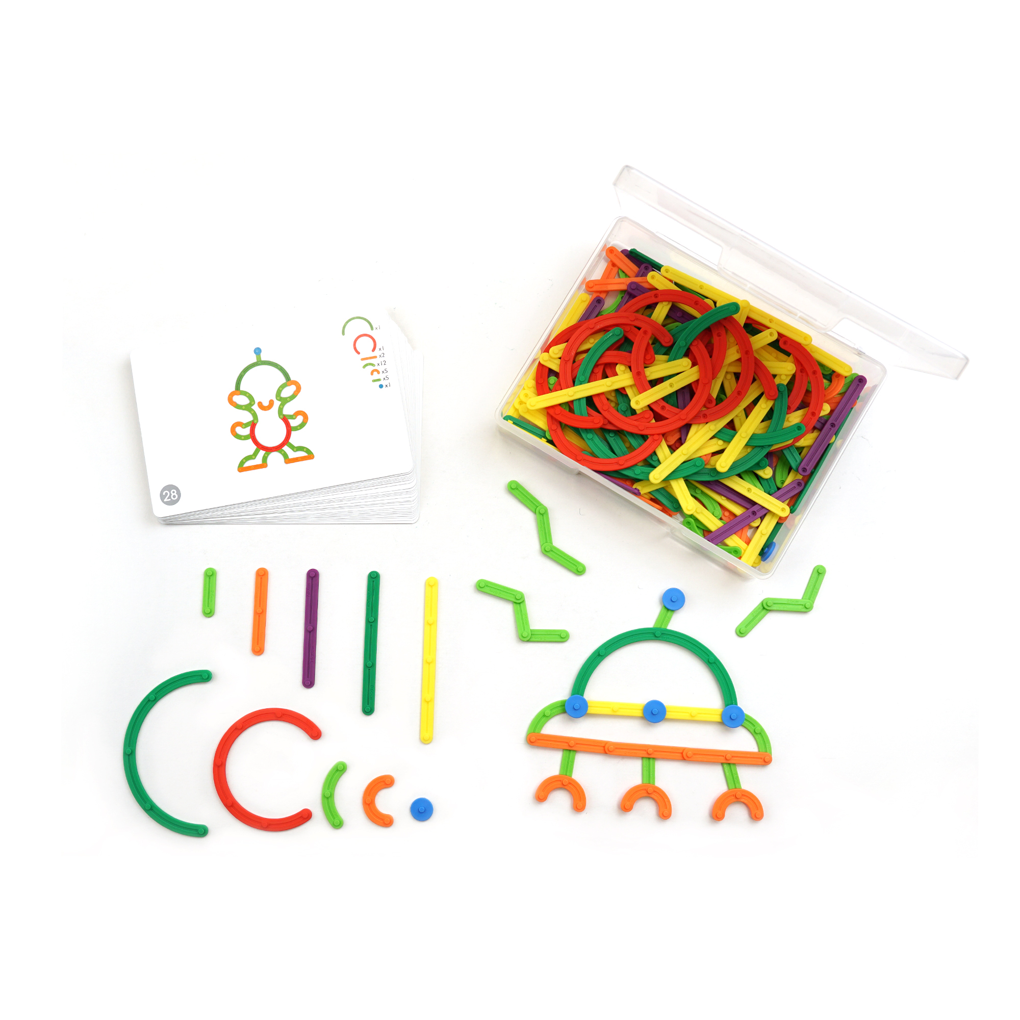 Geostix® Letter & Construction Set