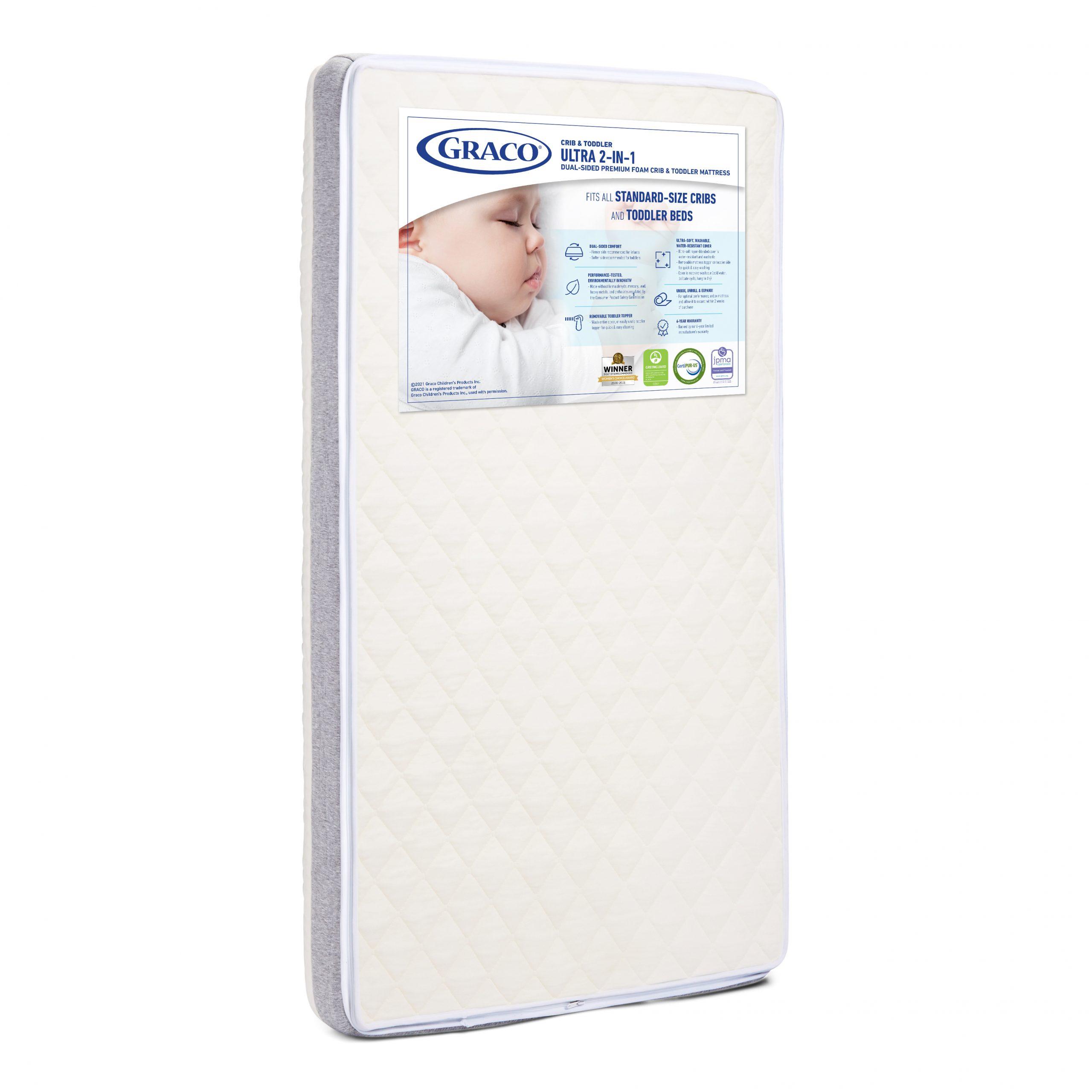 Graco Ultra Premium 2-in-1 Crib and Toddler Mattress