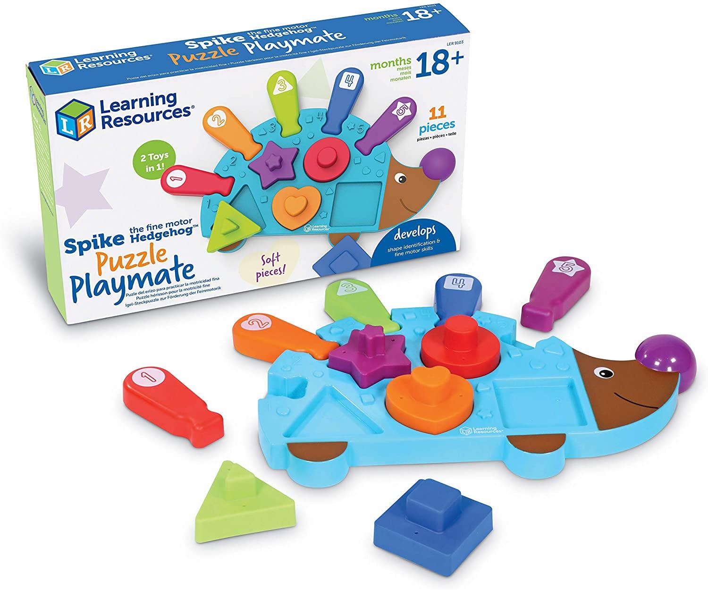 Spike the Fine Motor Hedgehog™ Puzzle Playmate