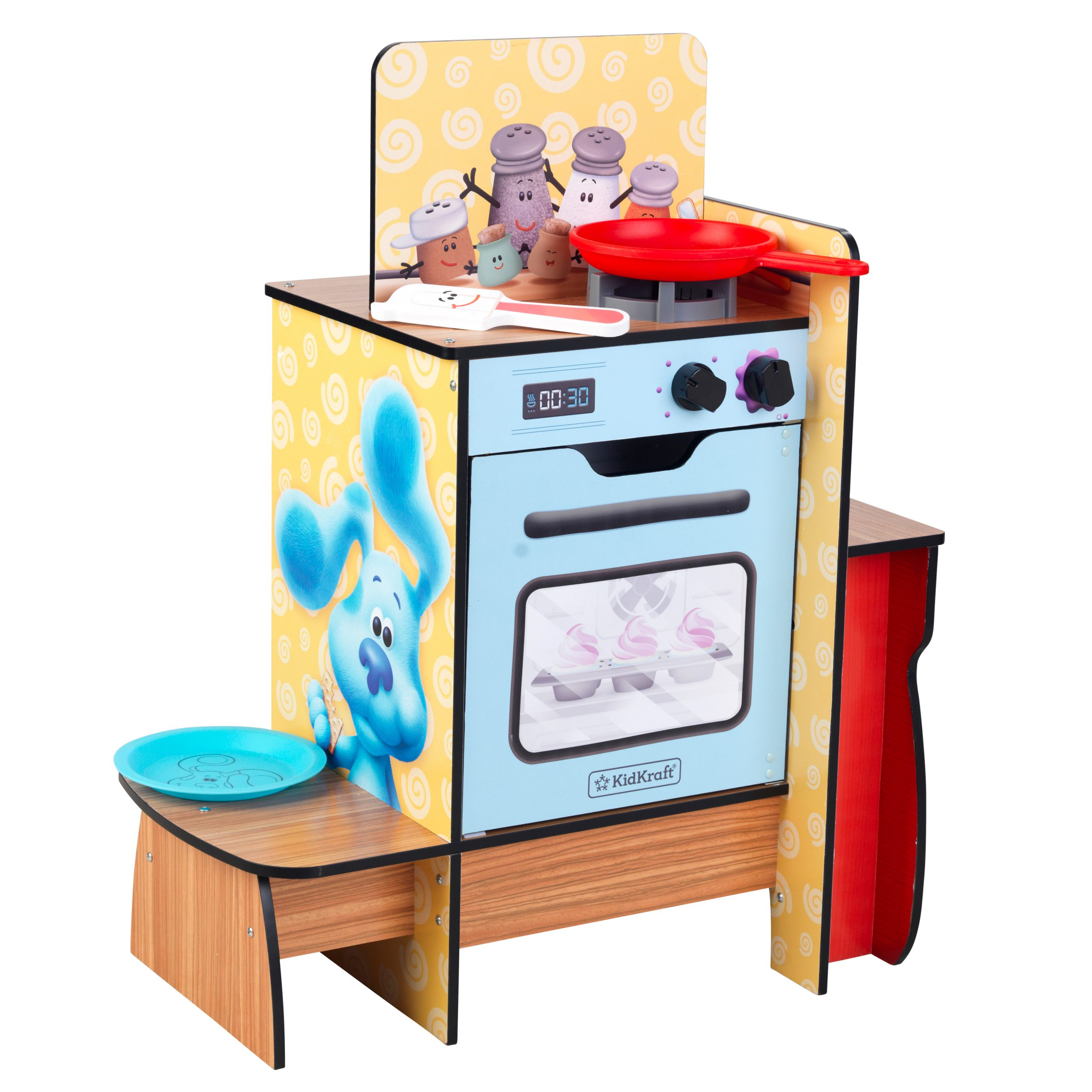 KidKraft Blue's Clues & You! Cooking-Up-Clues Play Kitchen